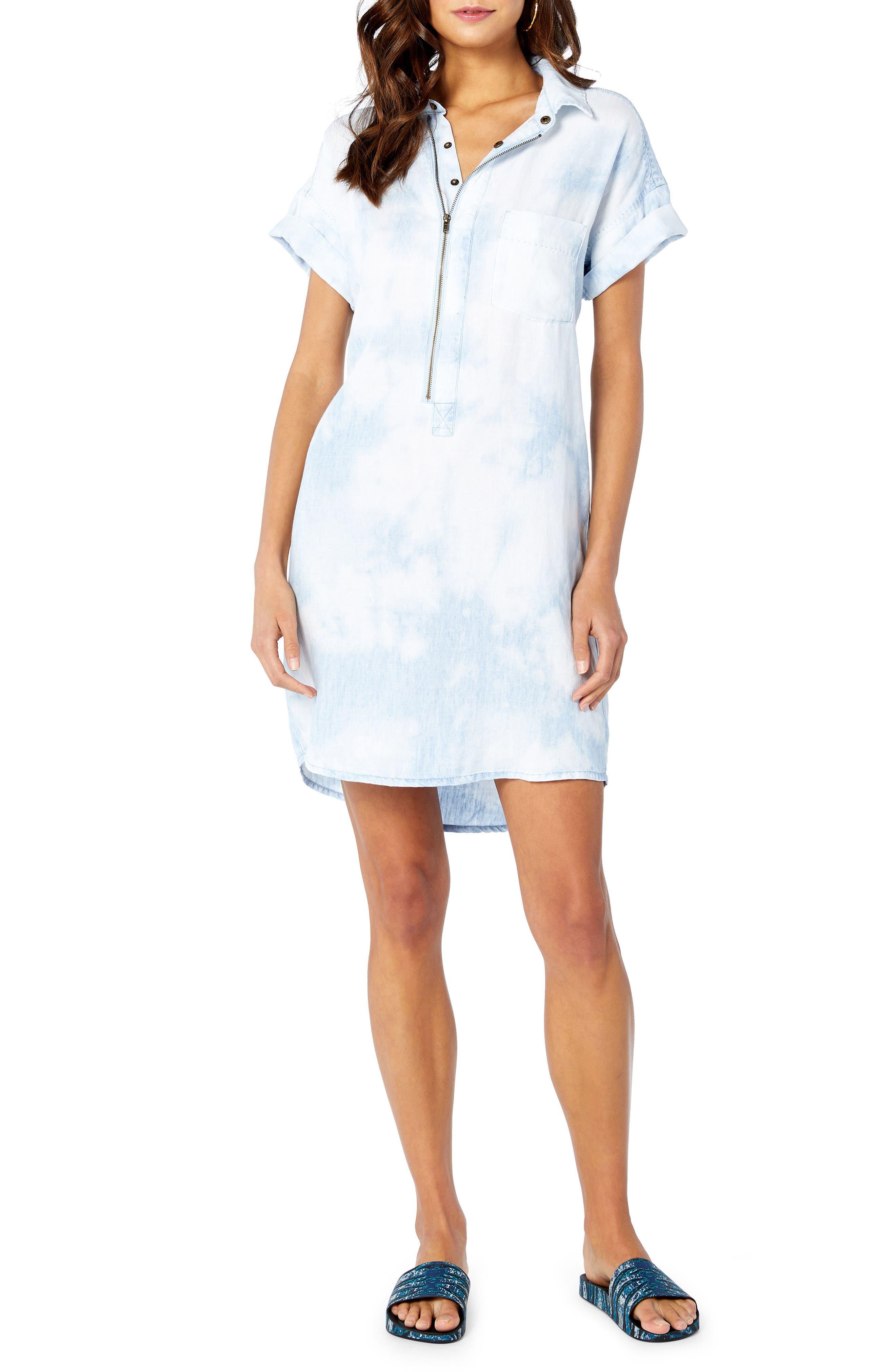 Shirt Dress,                         Main,                         color, 144