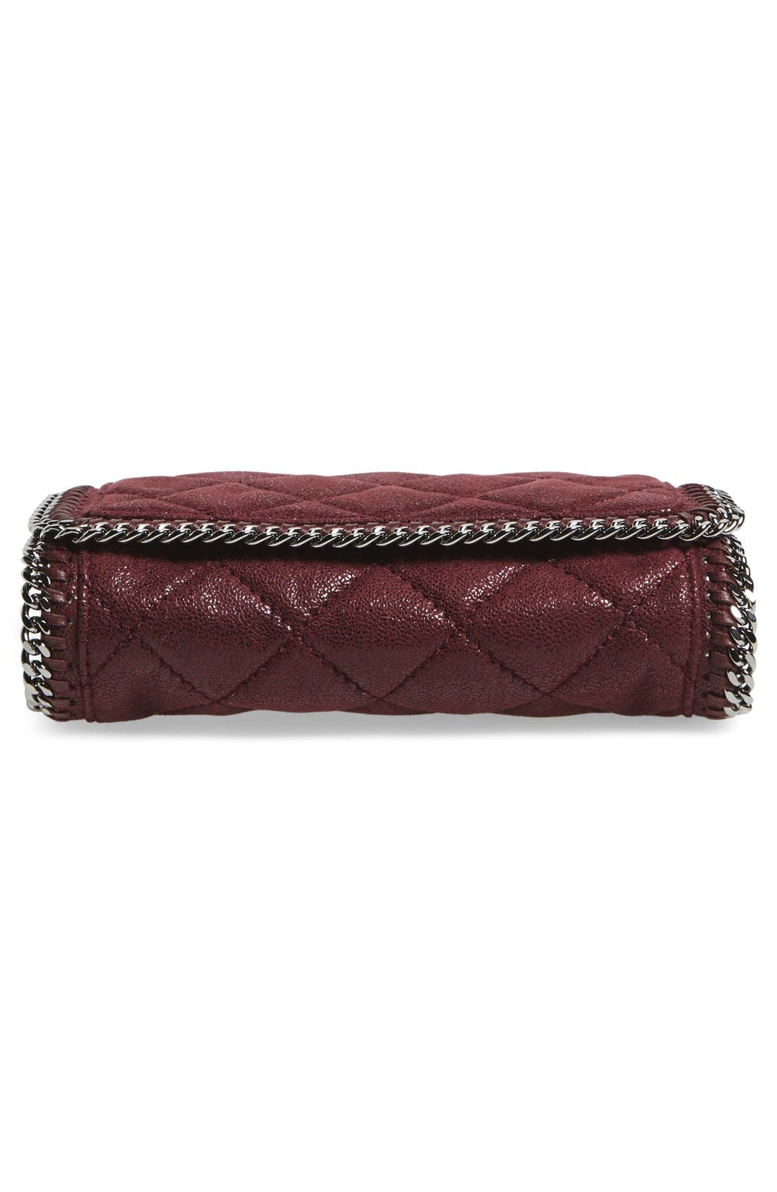 'Falabella' Quilted Faux Leather Crossbody Bag,                             Alternate thumbnail 20, color,