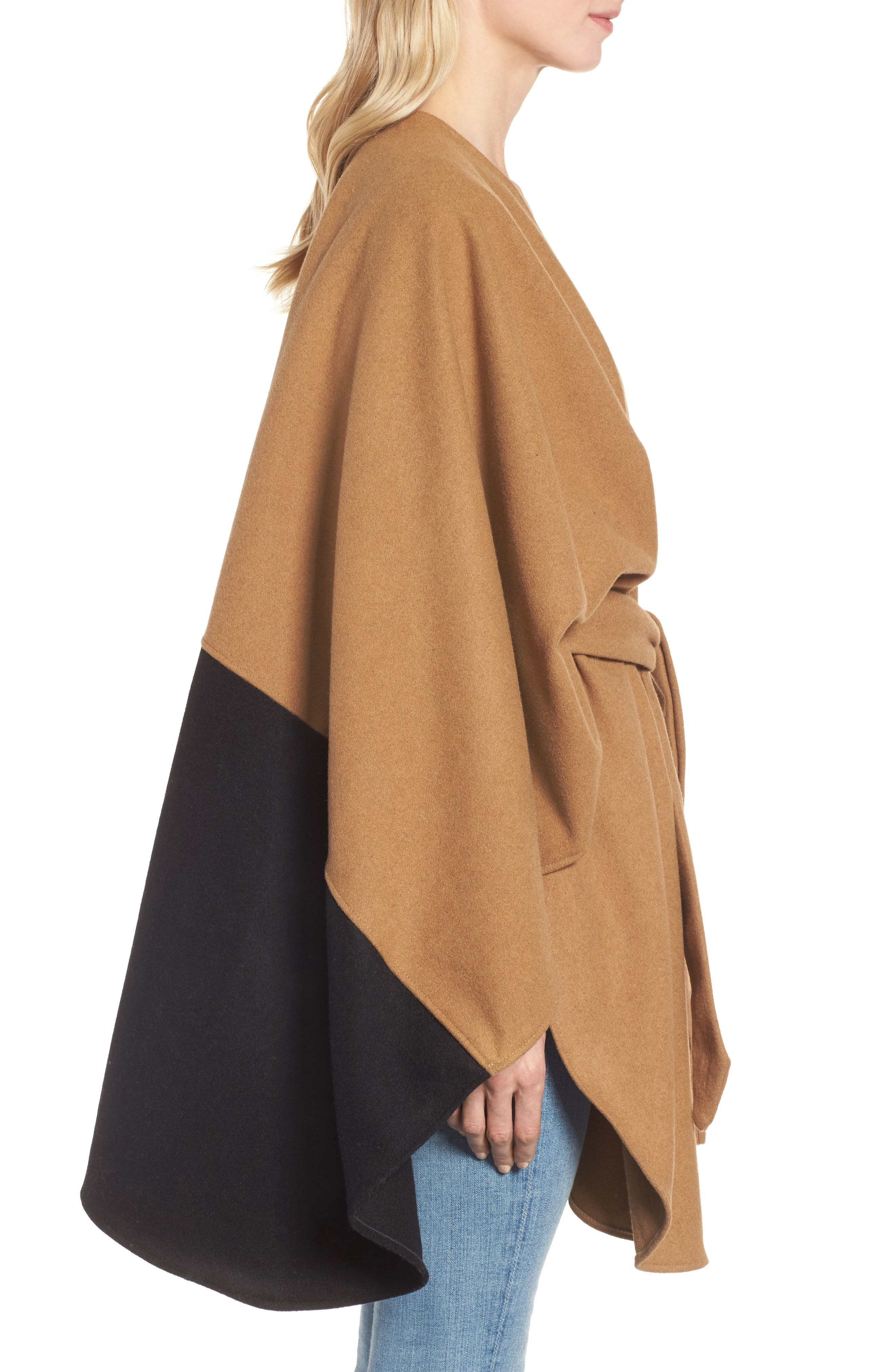 Duo Wonder Wool Cape,                             Alternate thumbnail 6, color,