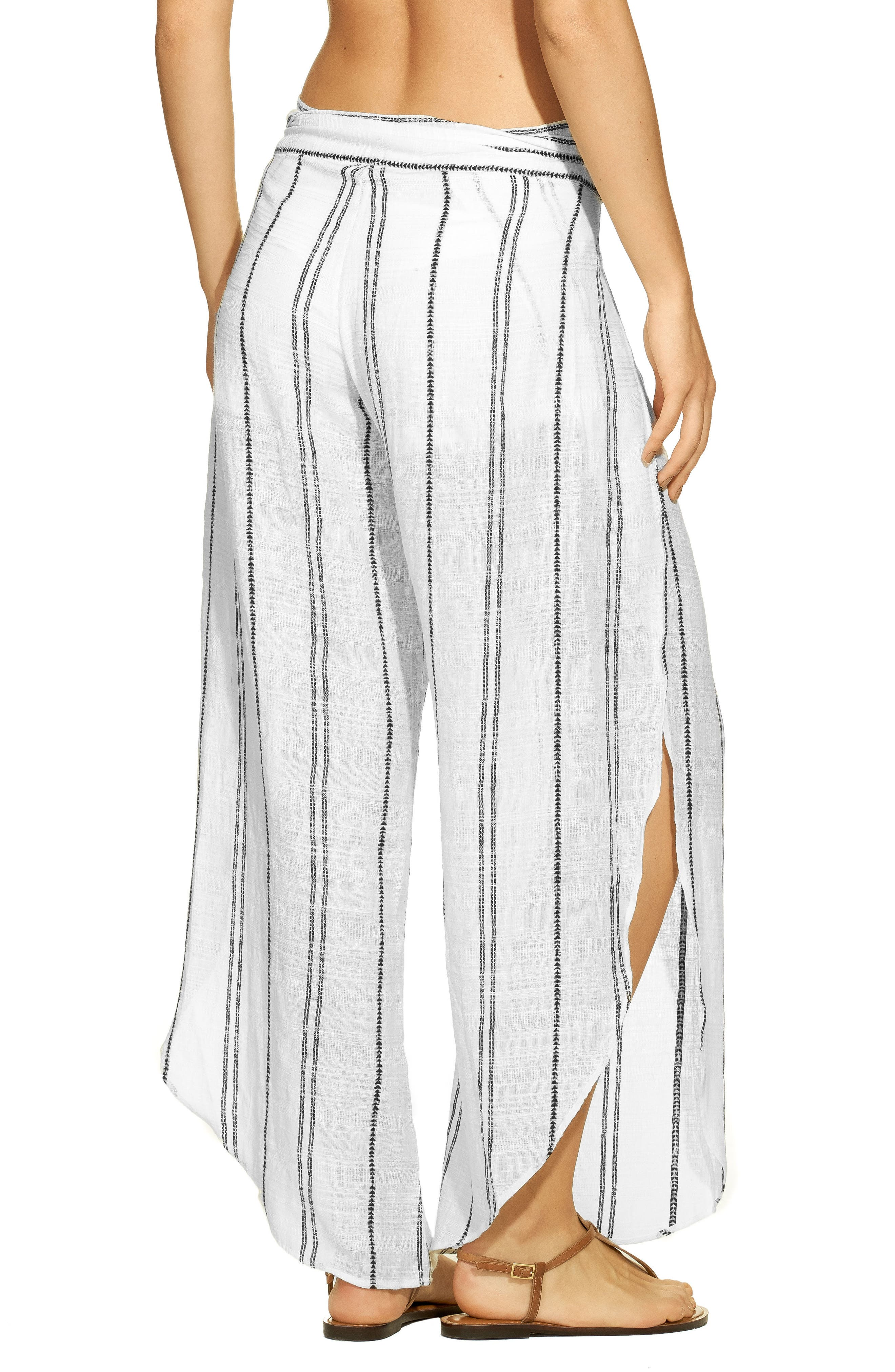 Liz Cover-Up Pants,                             Alternate thumbnail 2, color,                             OFF WHITE