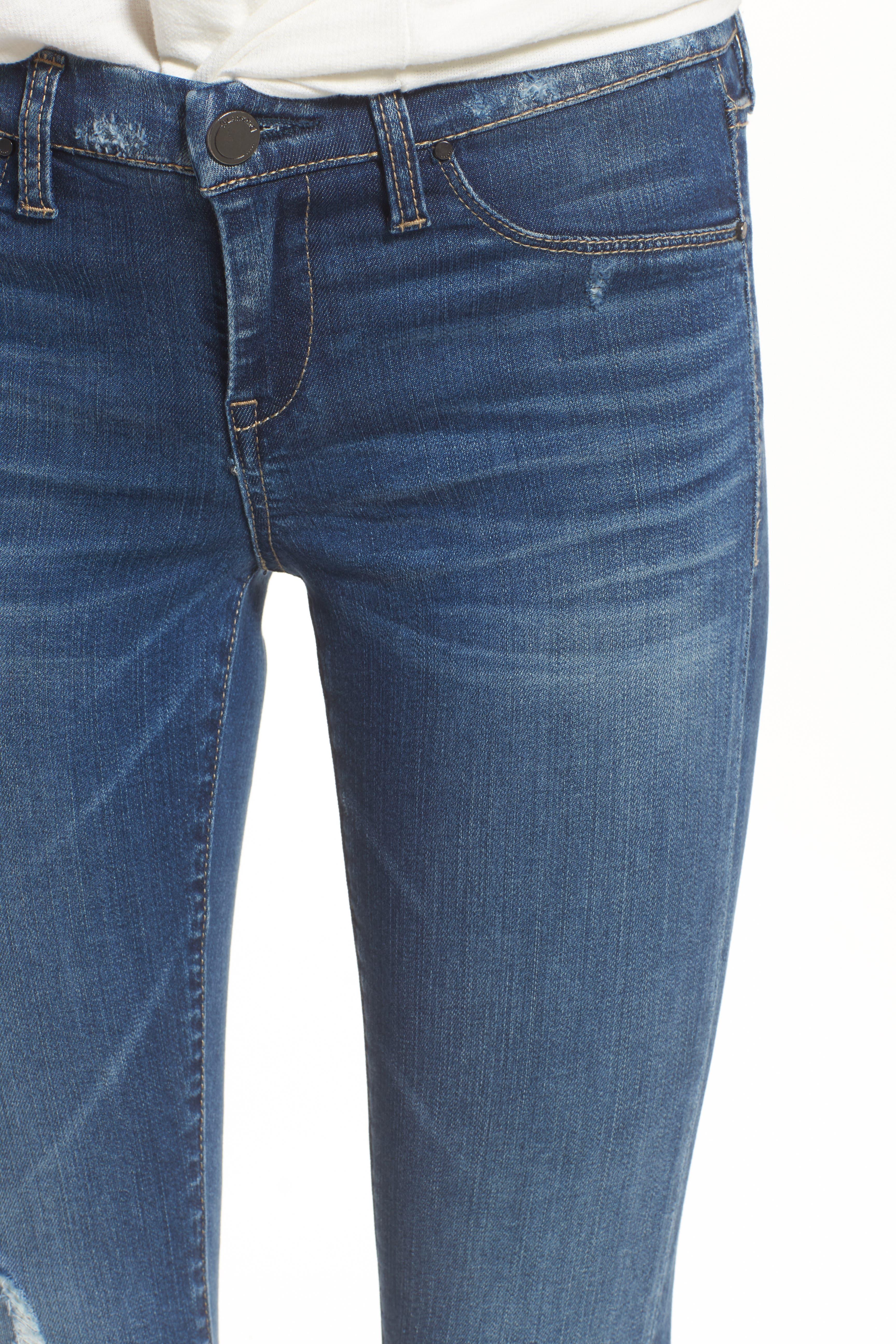 501<sup>®</sup> High Waist Cutoff Denim Shorts,                             Alternate thumbnail 6, color,                             401