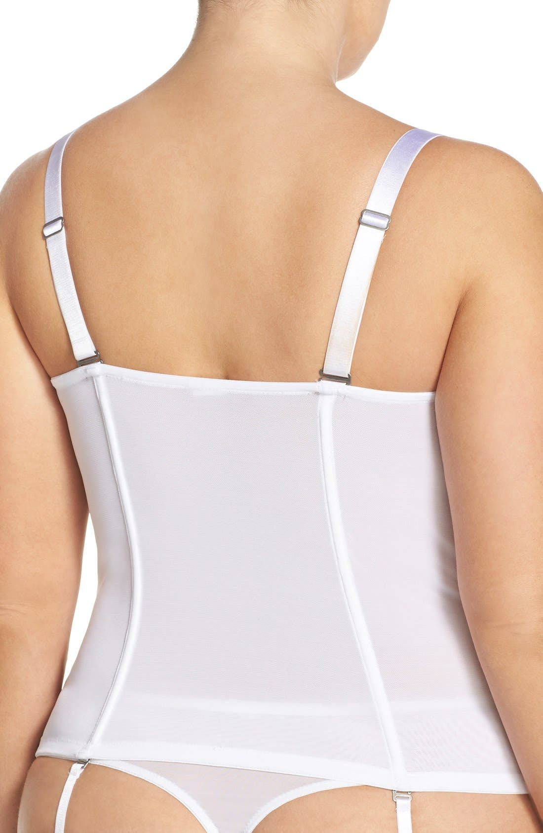 'Dreamer' Convertible Underwire Bustier,                             Alternate thumbnail 6, color,                             100