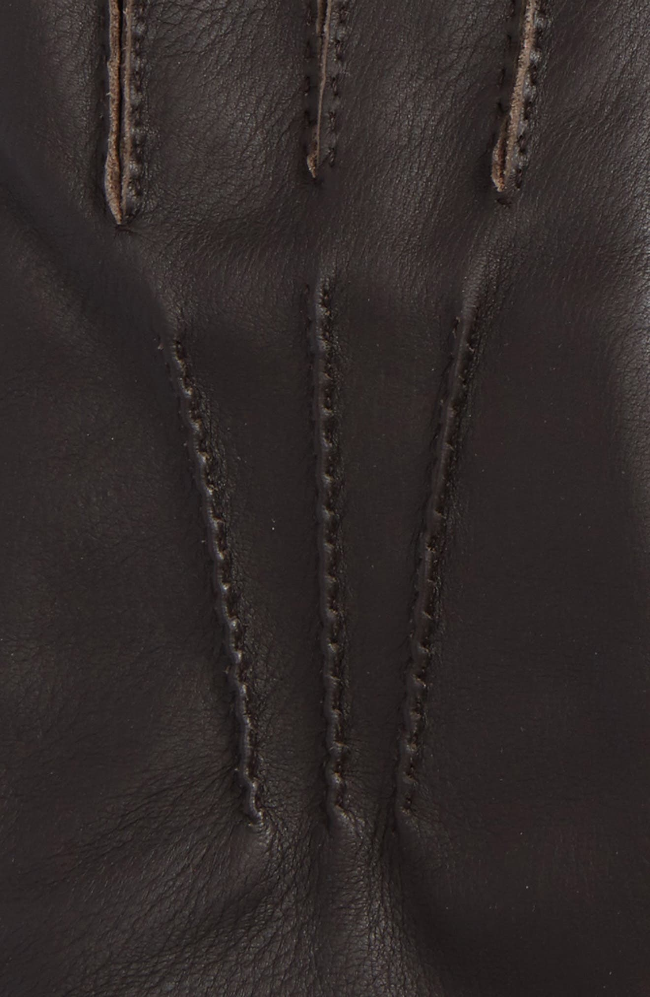 Deerskin Leather Gloves,                             Alternate thumbnail 3, color,