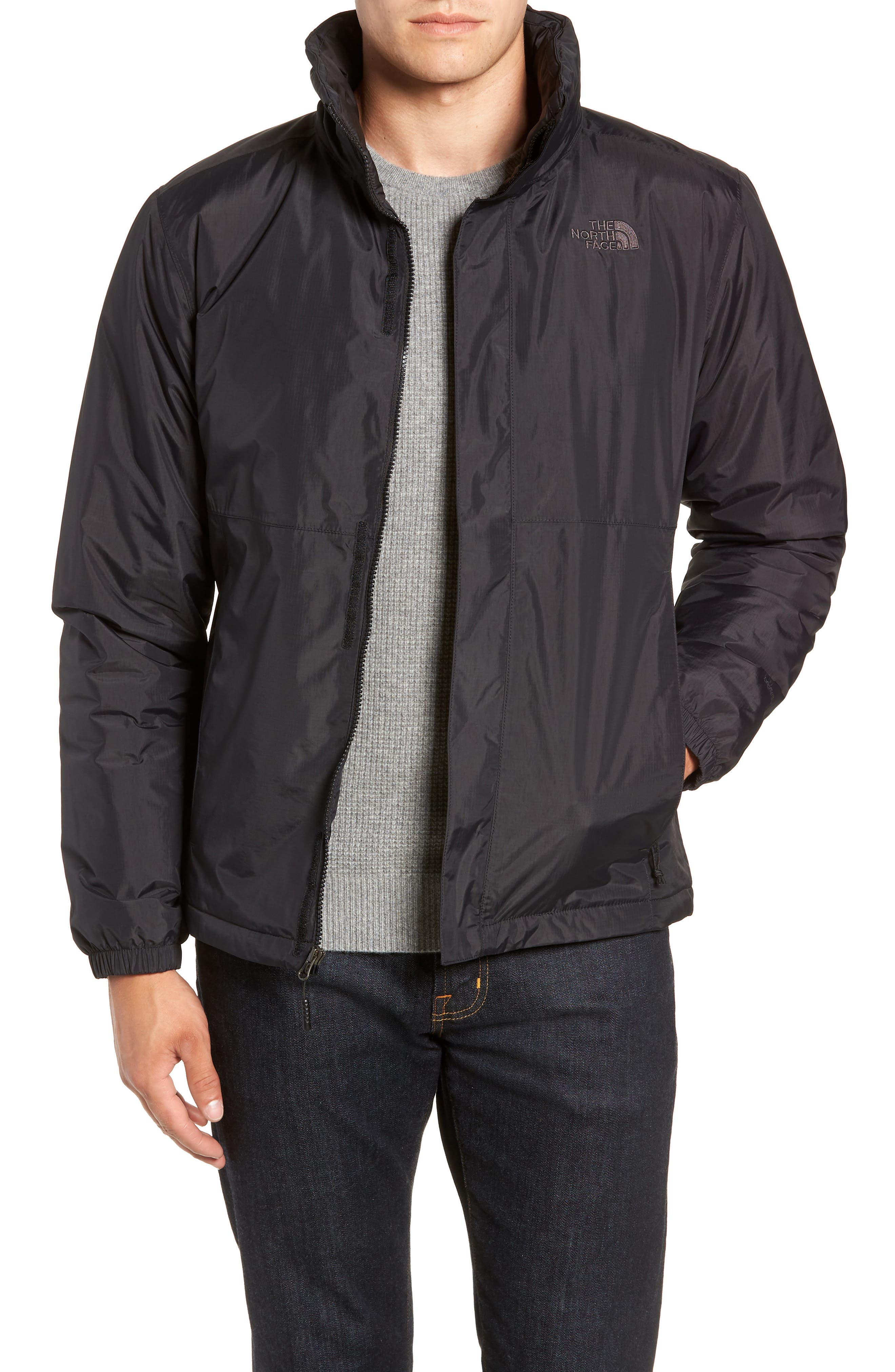 Resolve Waterproof Jacket,                             Main thumbnail 1, color,                             TNF BLACK