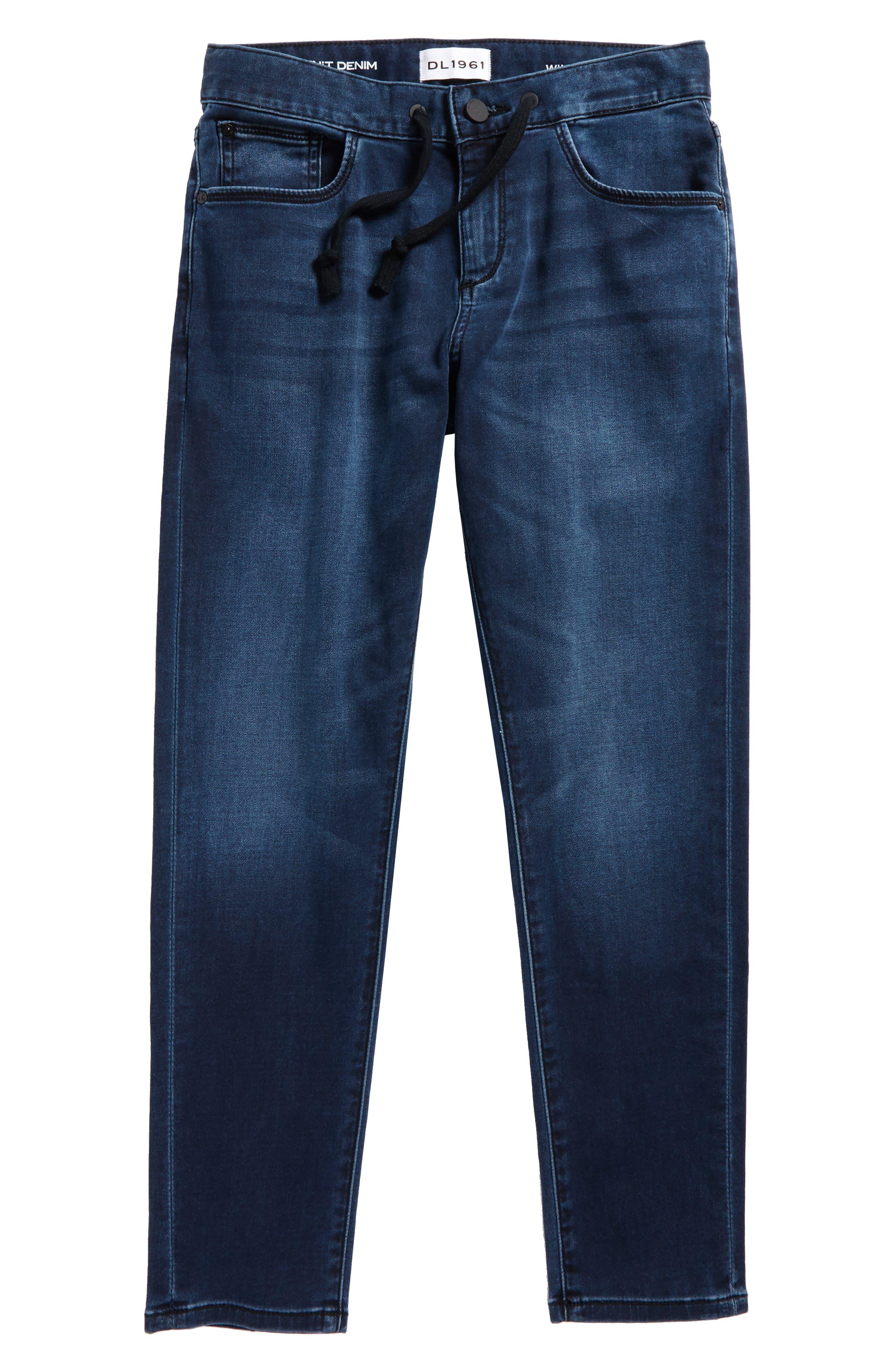 William Drawstring Jeans,                         Main,                         color, RESERVE