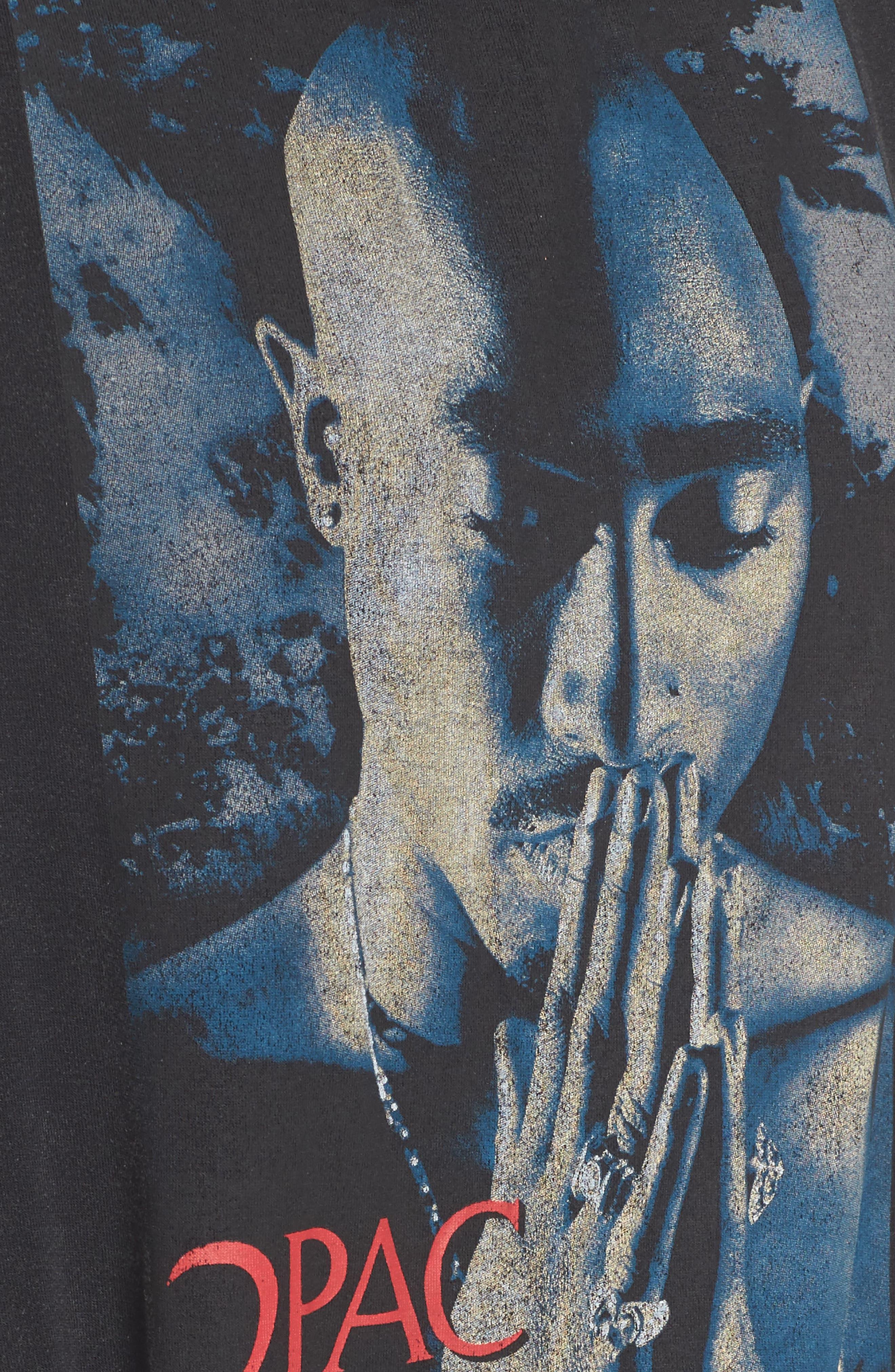 Tupac Tee,                             Alternate thumbnail 5, color,                             001