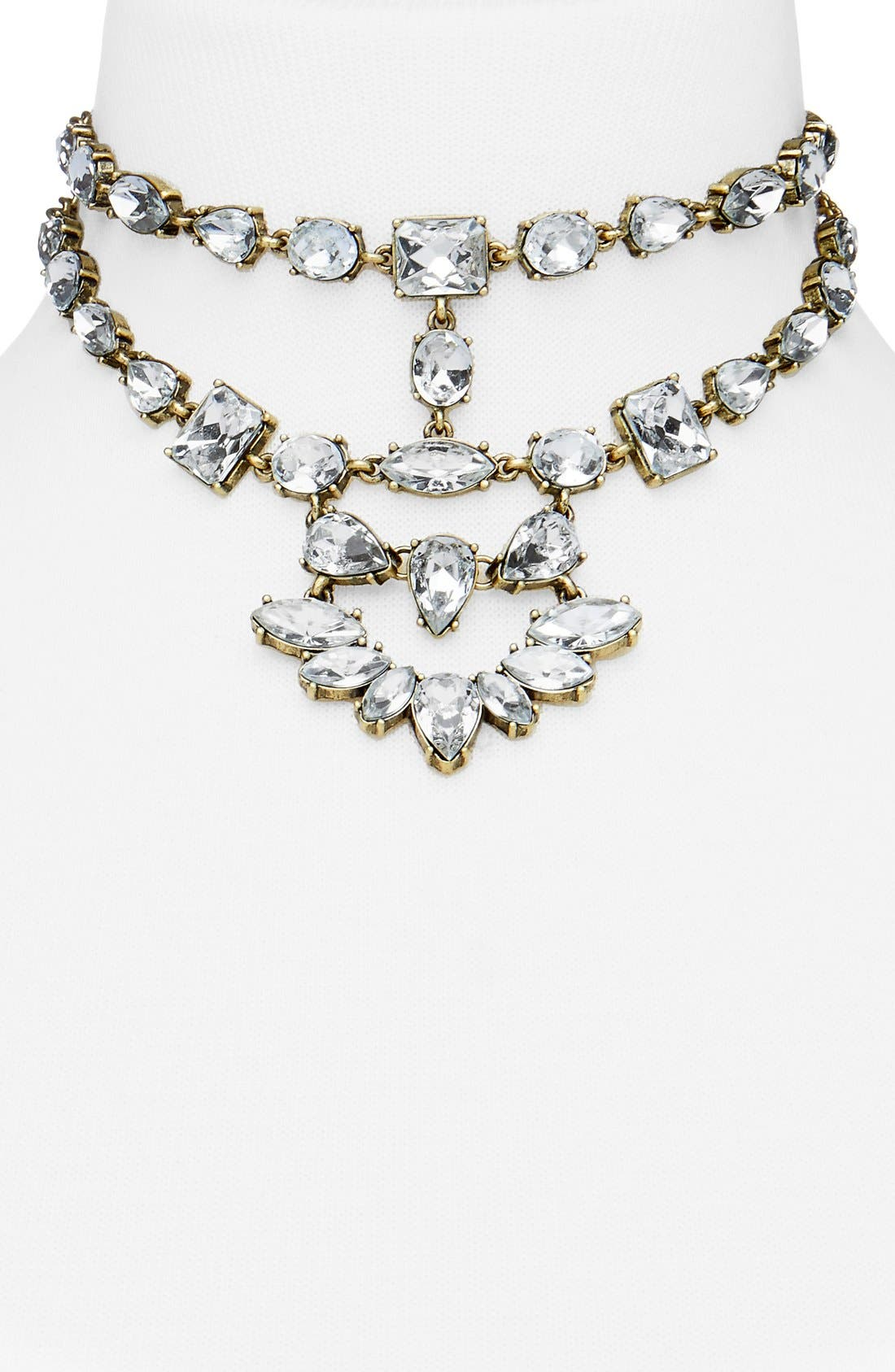 Reina Bib Necklace,                         Main,                         color, 719
