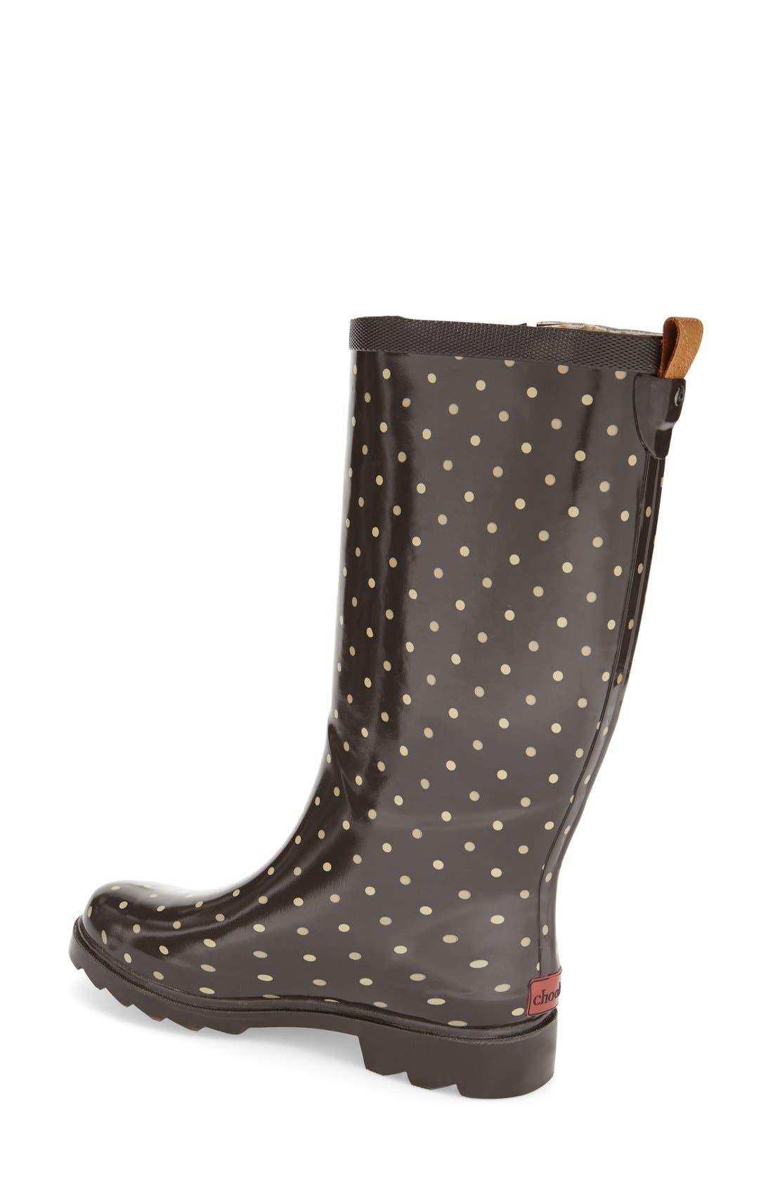 'Classic Dot' Rain Boot,                             Alternate thumbnail 2, color,                             200