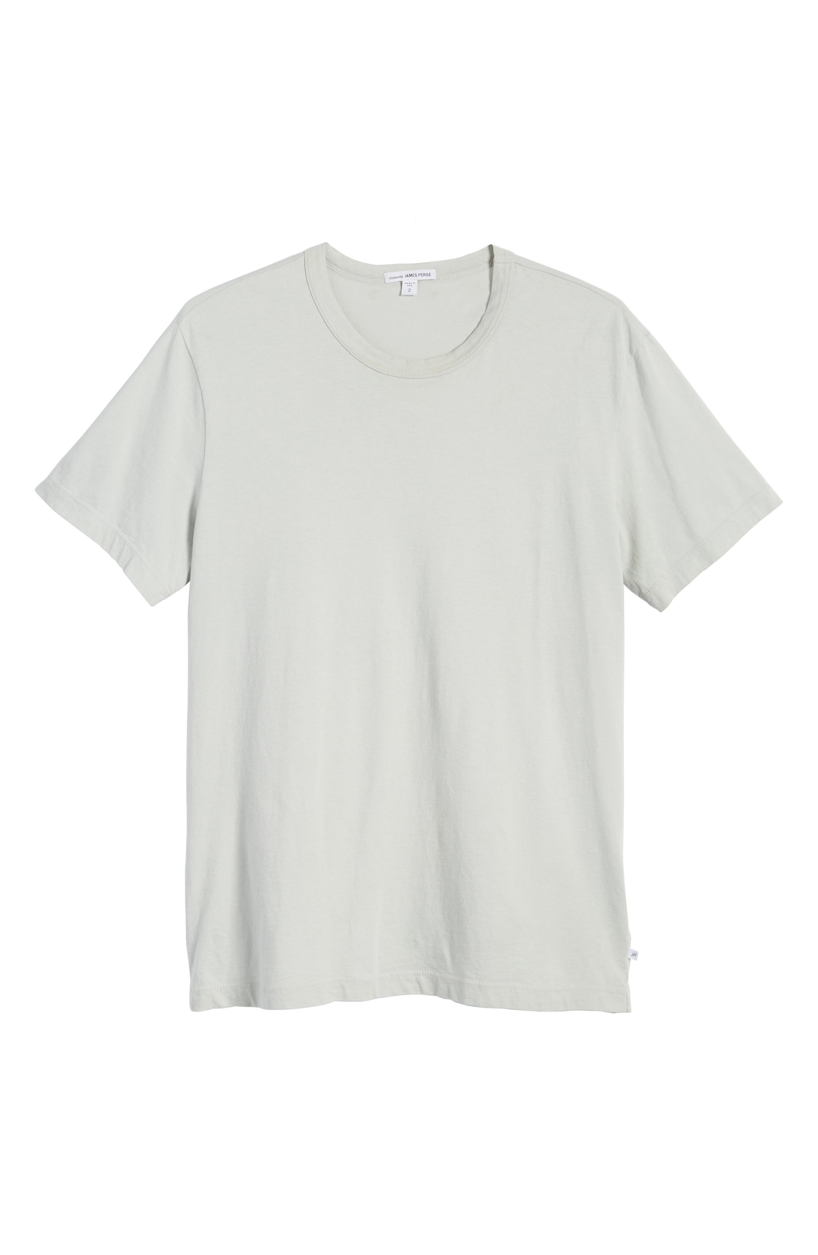 Crewneck Jersey T-Shirt,                             Alternate thumbnail 477, color,