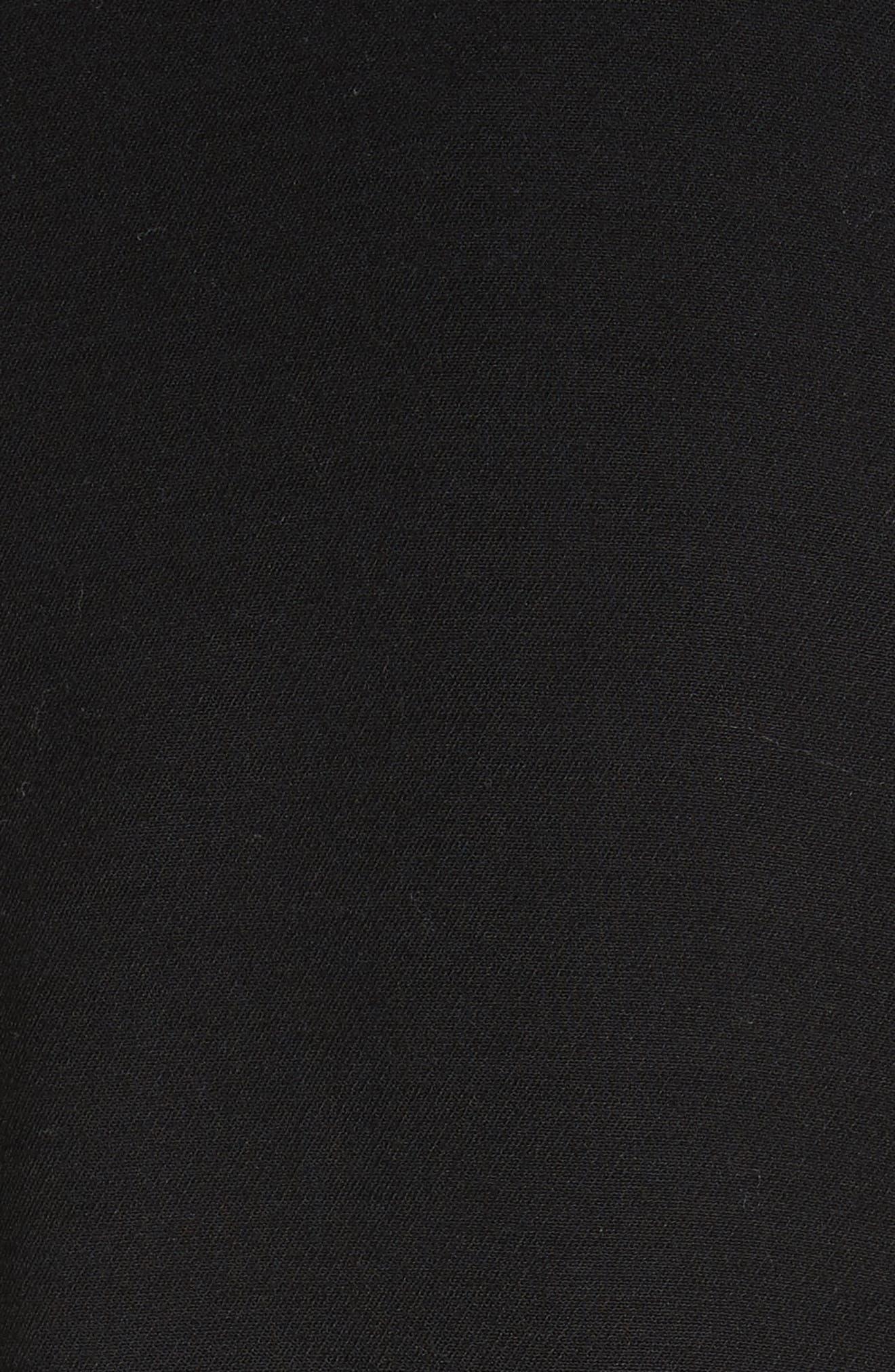 Open Front Blazer Coat,                             Alternate thumbnail 6, color,                             001