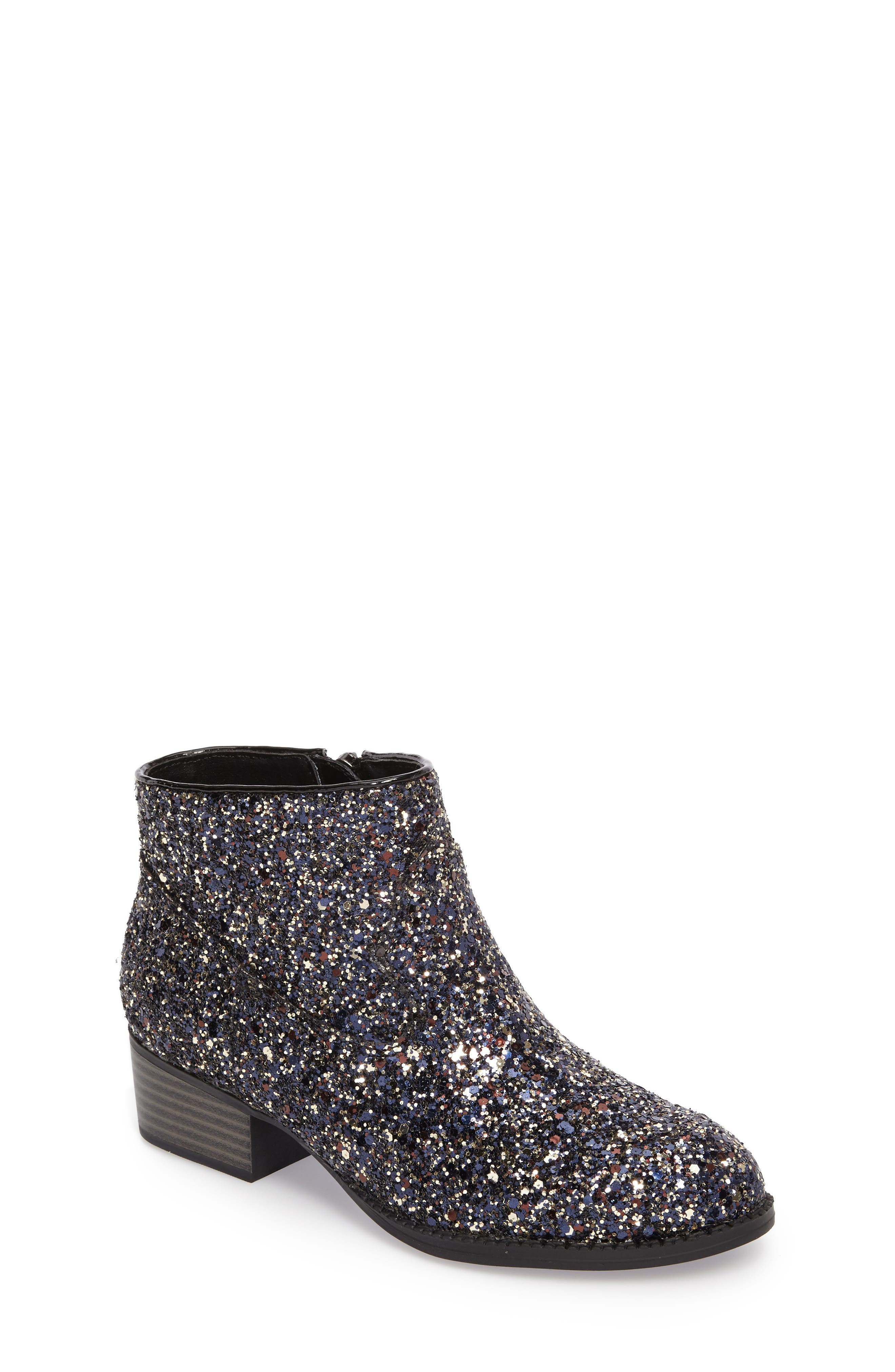 Jaclyn Glitter Bootie,                             Main thumbnail 1, color,