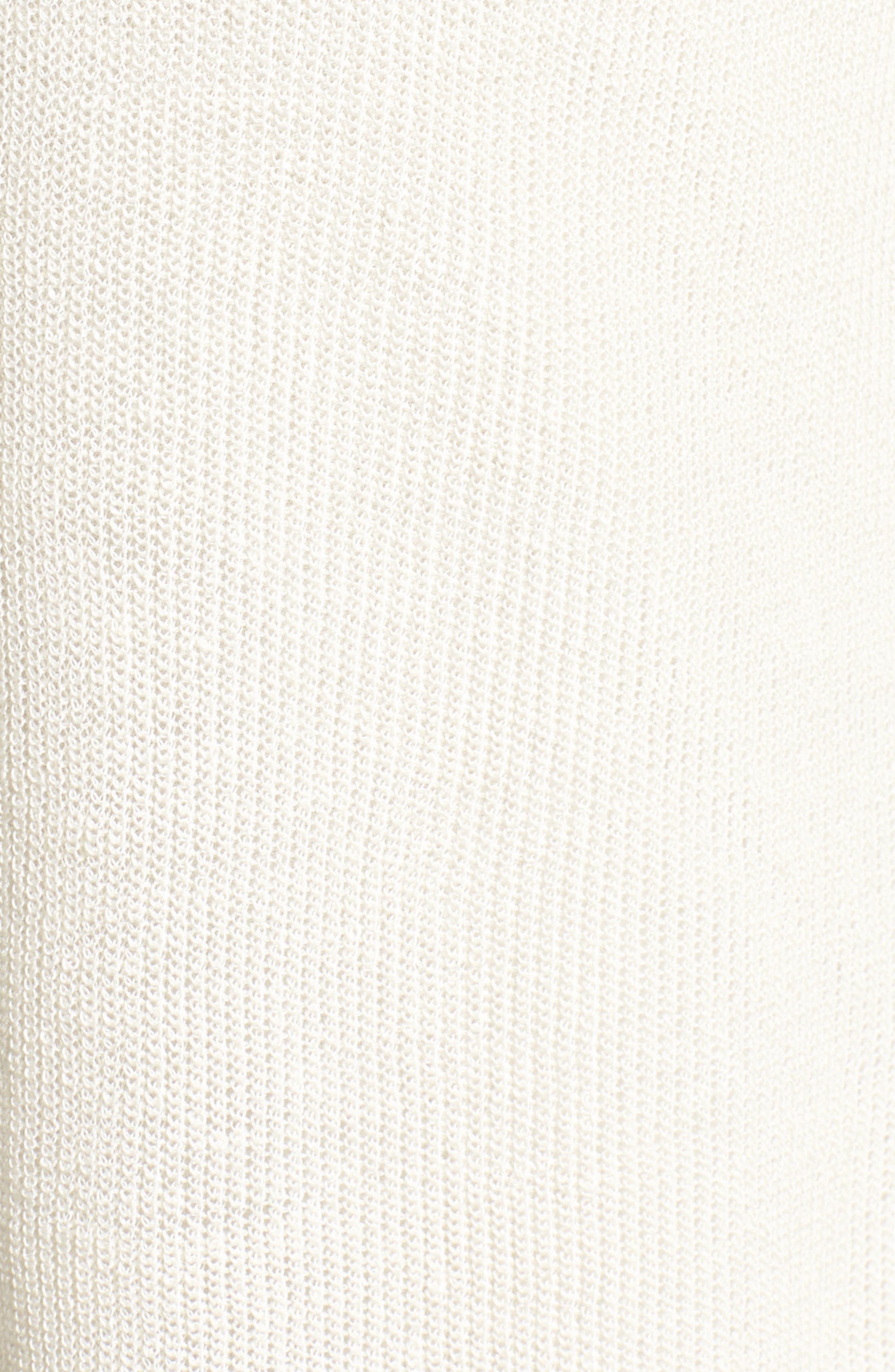 Organic Linen Blend Crop Cardigan,                             Alternate thumbnail 14, color,