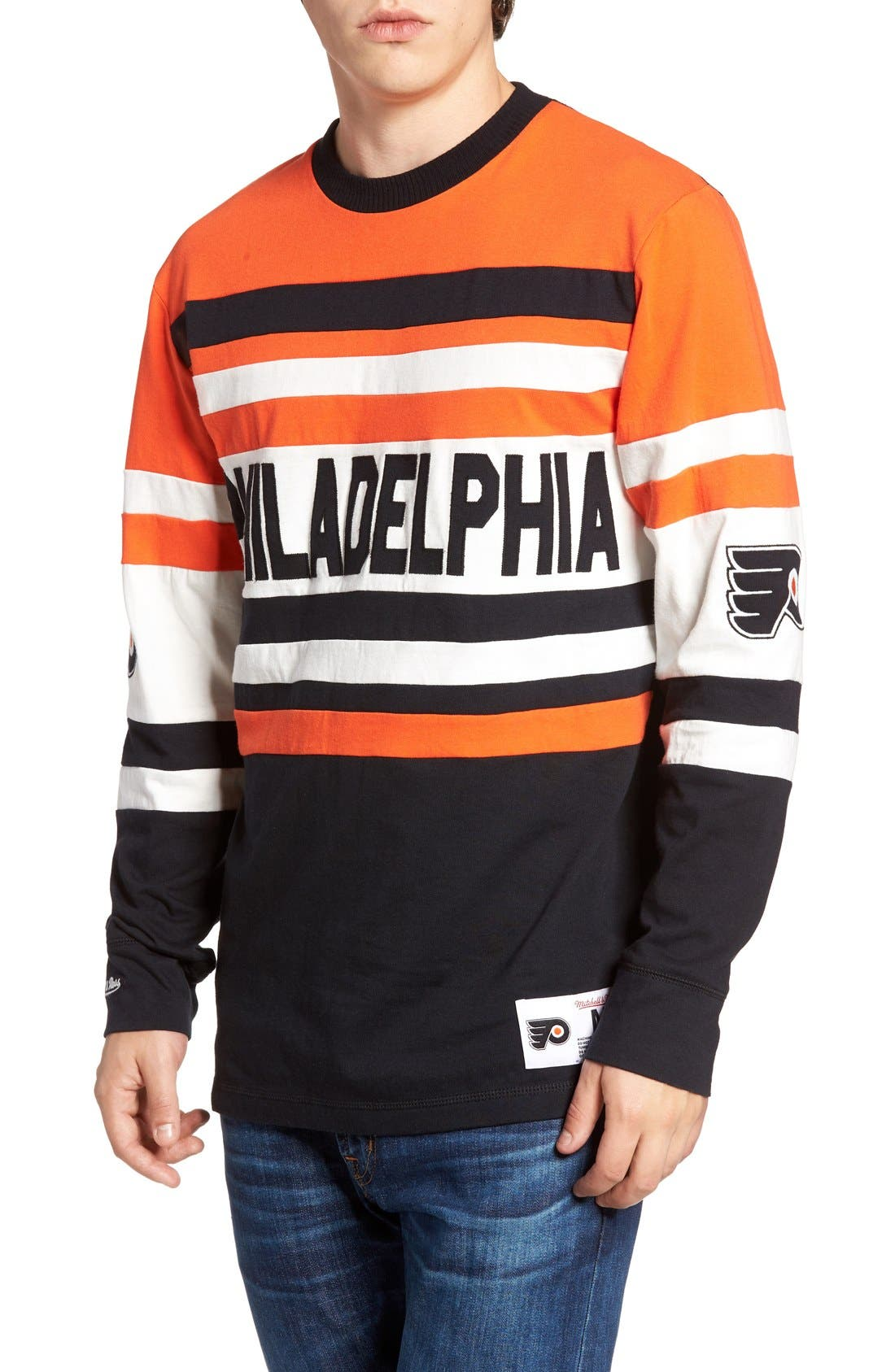 Flyers Open Net Pullover,                             Main thumbnail 1, color,                             800