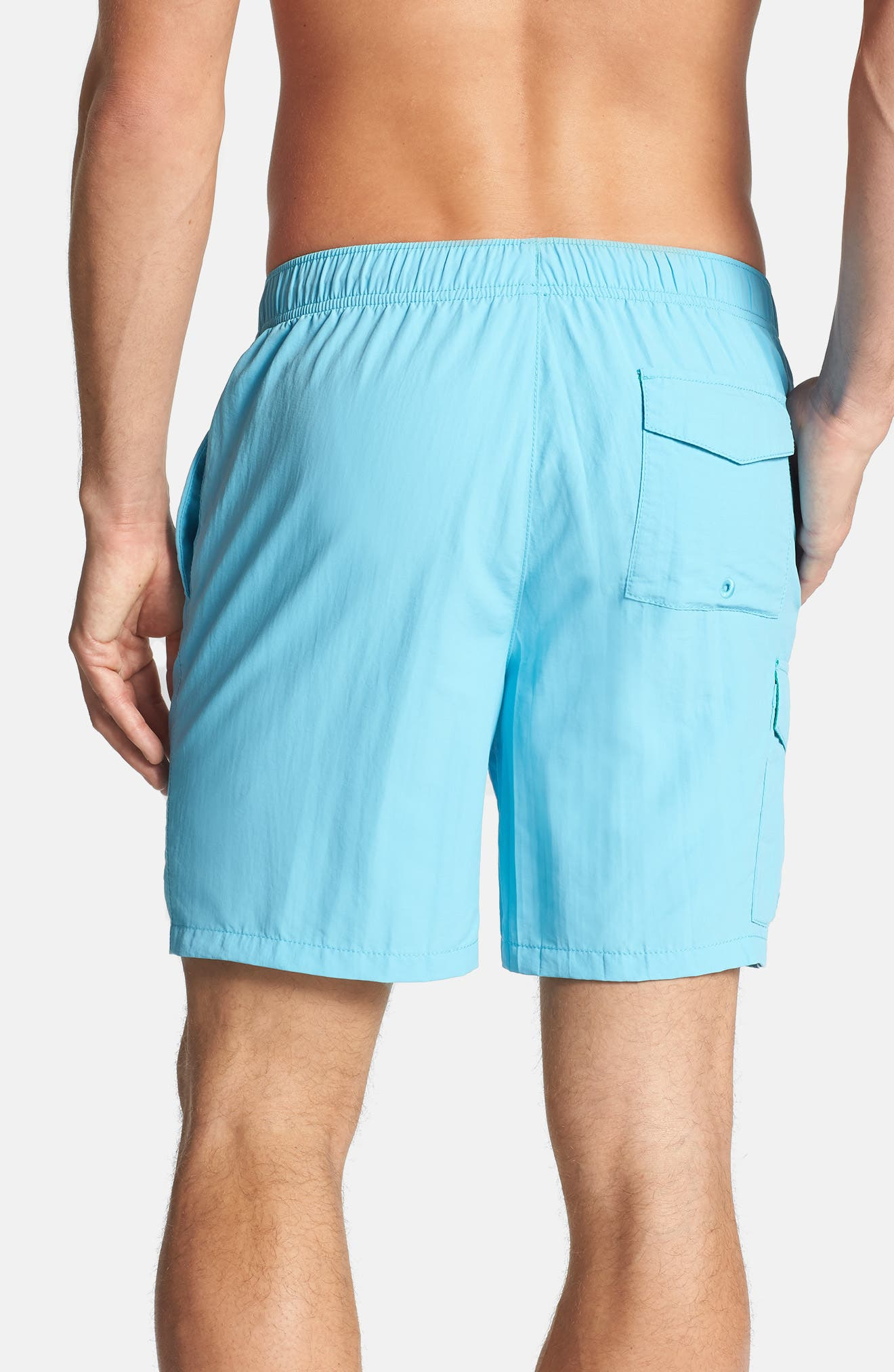 Naples Happy Go Cargo Swim Trunks,                             Alternate thumbnail 8, color,                             400