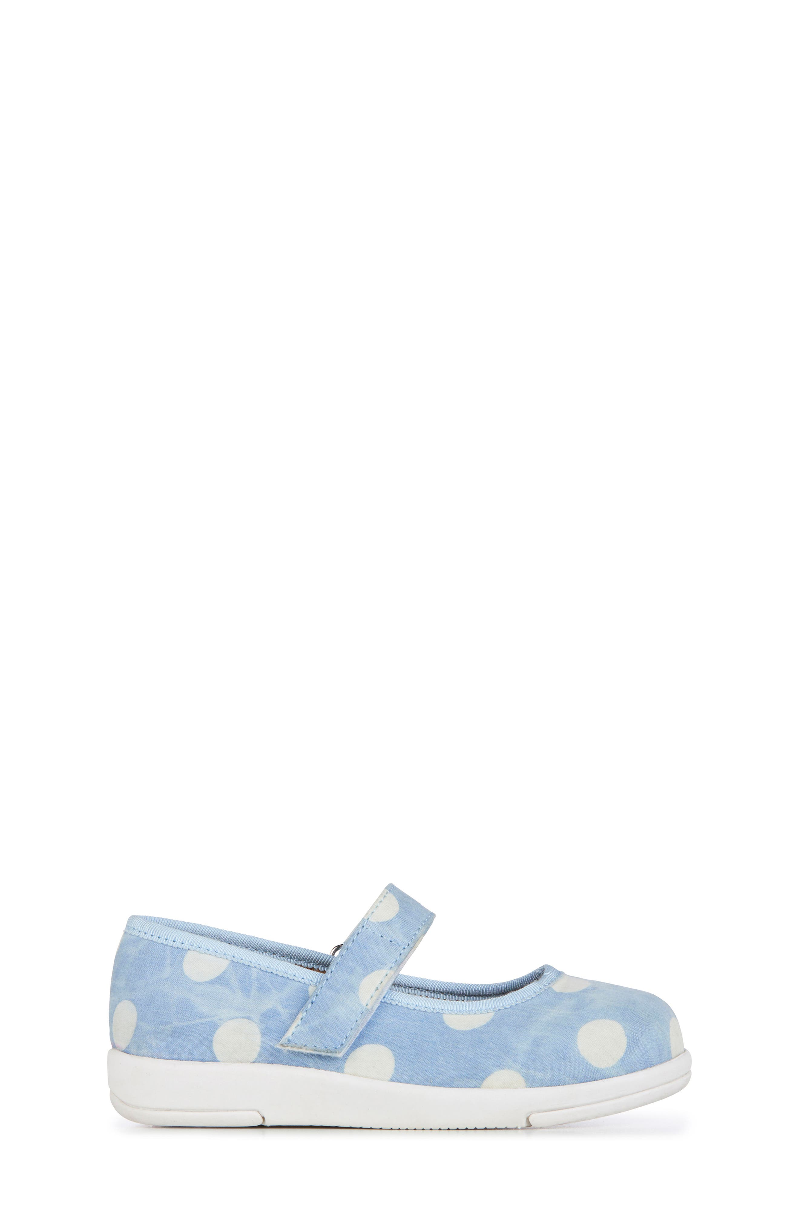 Deena Mary Jane Sneaker,                             Alternate thumbnail 3, color,                             SPOT LIGHT DENIM DISTRESS