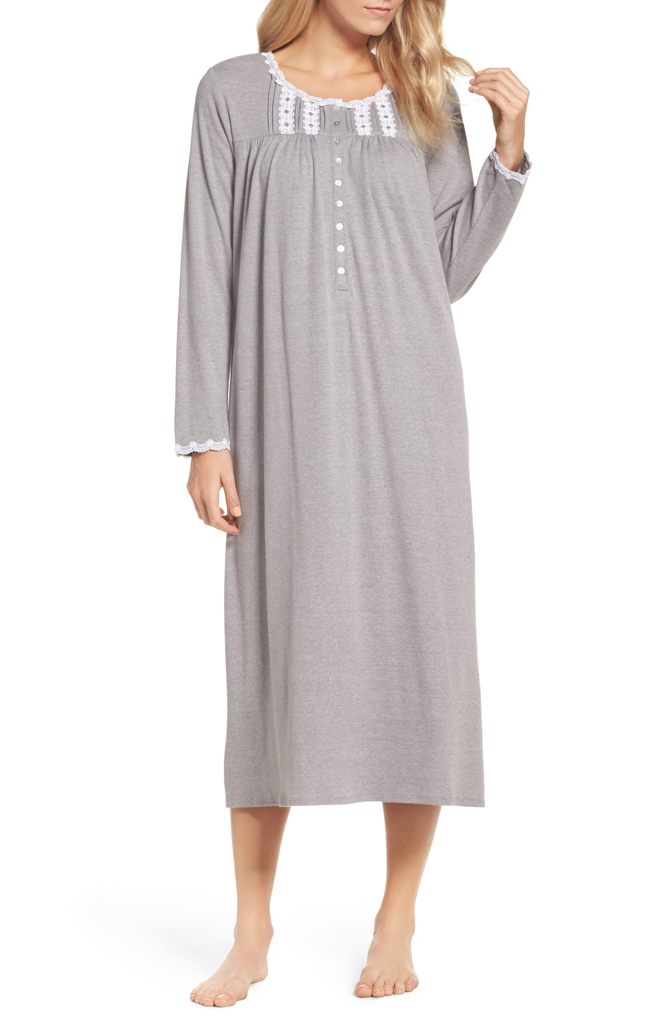 Jersey Nightgown,                             Main thumbnail 1, color,                             030
