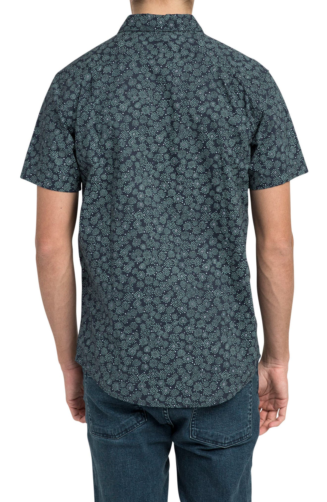 Cleta Woven Shirt,                             Alternate thumbnail 2, color,                             415