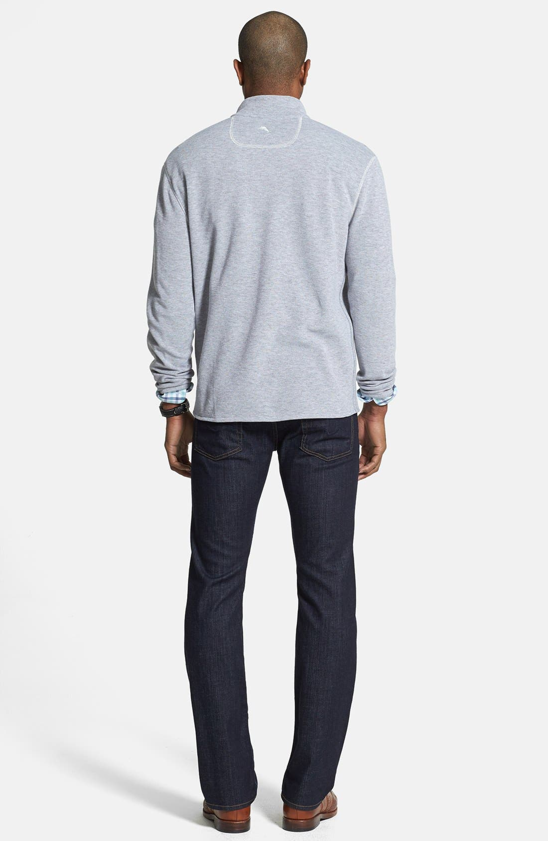 'Standard' Straight Leg Jeans,                             Alternate thumbnail 9, color,                             DARK AND CLEAN