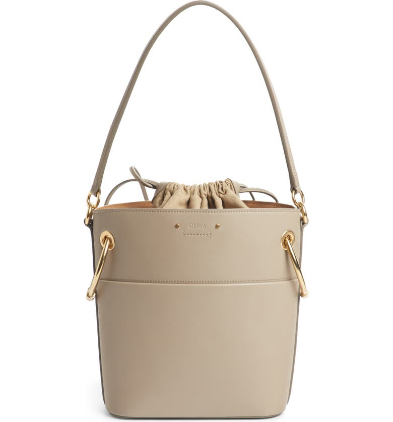 Chloé Roy Small Leather Bucket Bag  0385d6bfb4382