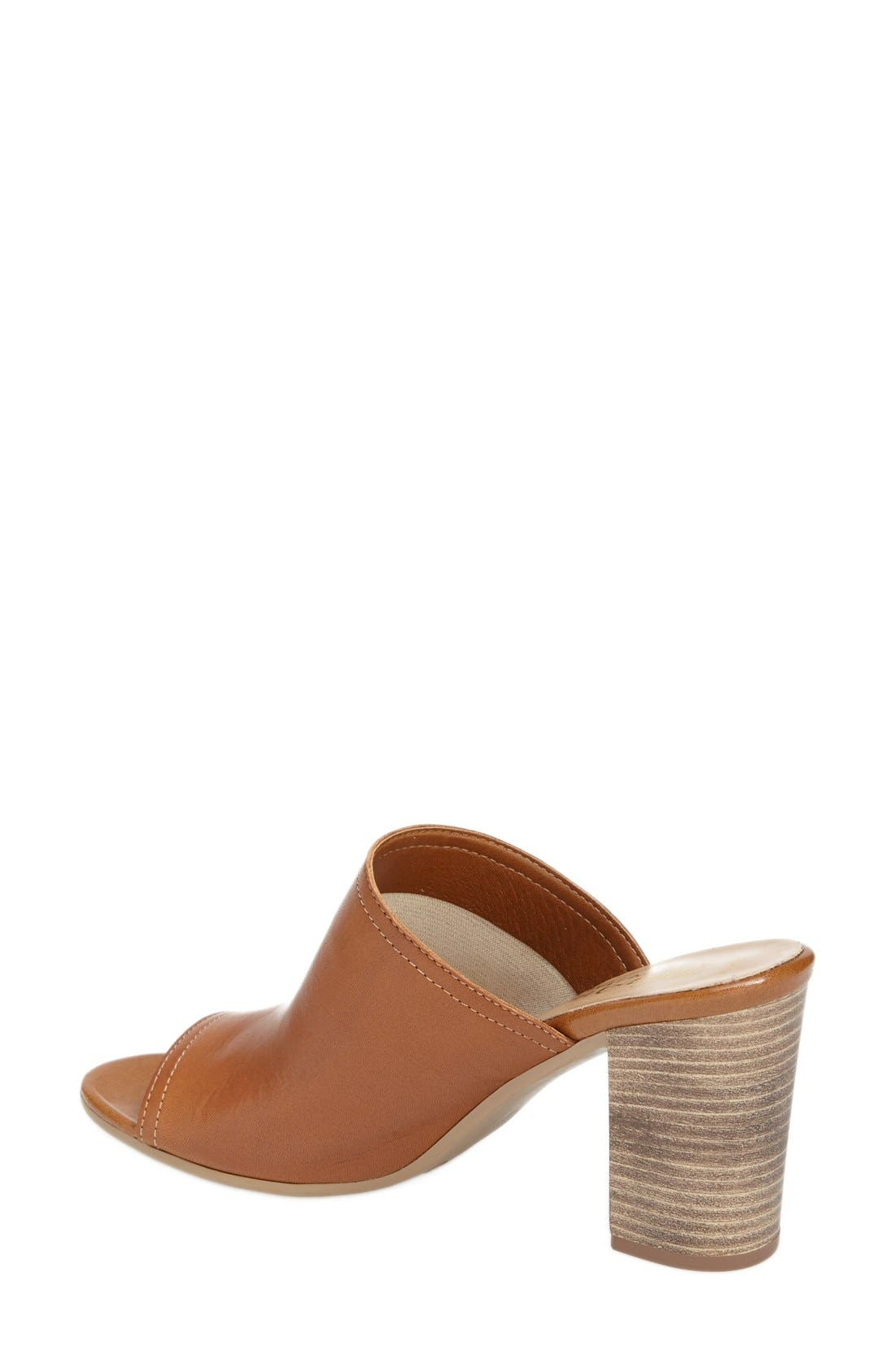 'Arno' Leather Mule,                             Alternate thumbnail 17, color,