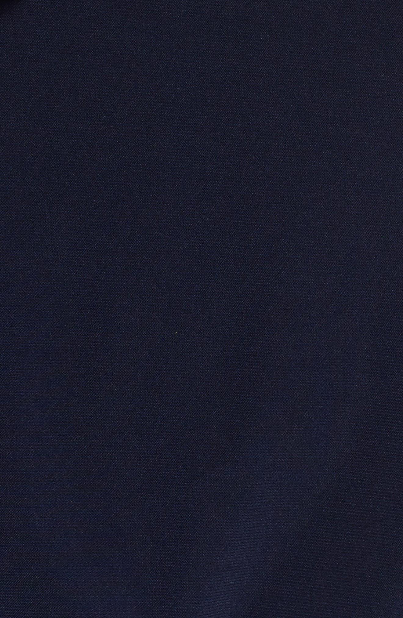 Chain Neck Cold Shoulder Jumpsuit,                             Alternate thumbnail 6, color,                             400