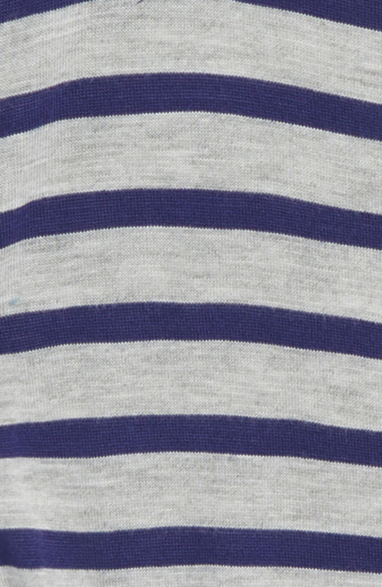 Stripe Knot Tee,                             Alternate thumbnail 2, color,                             050