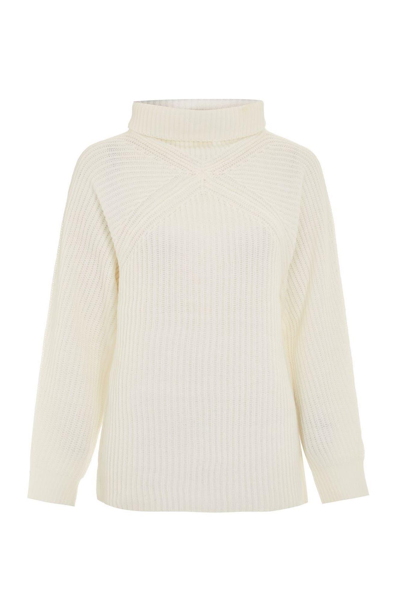 Diamond Stitch Turtleneck Sweater,                             Alternate thumbnail 4, color,                             900