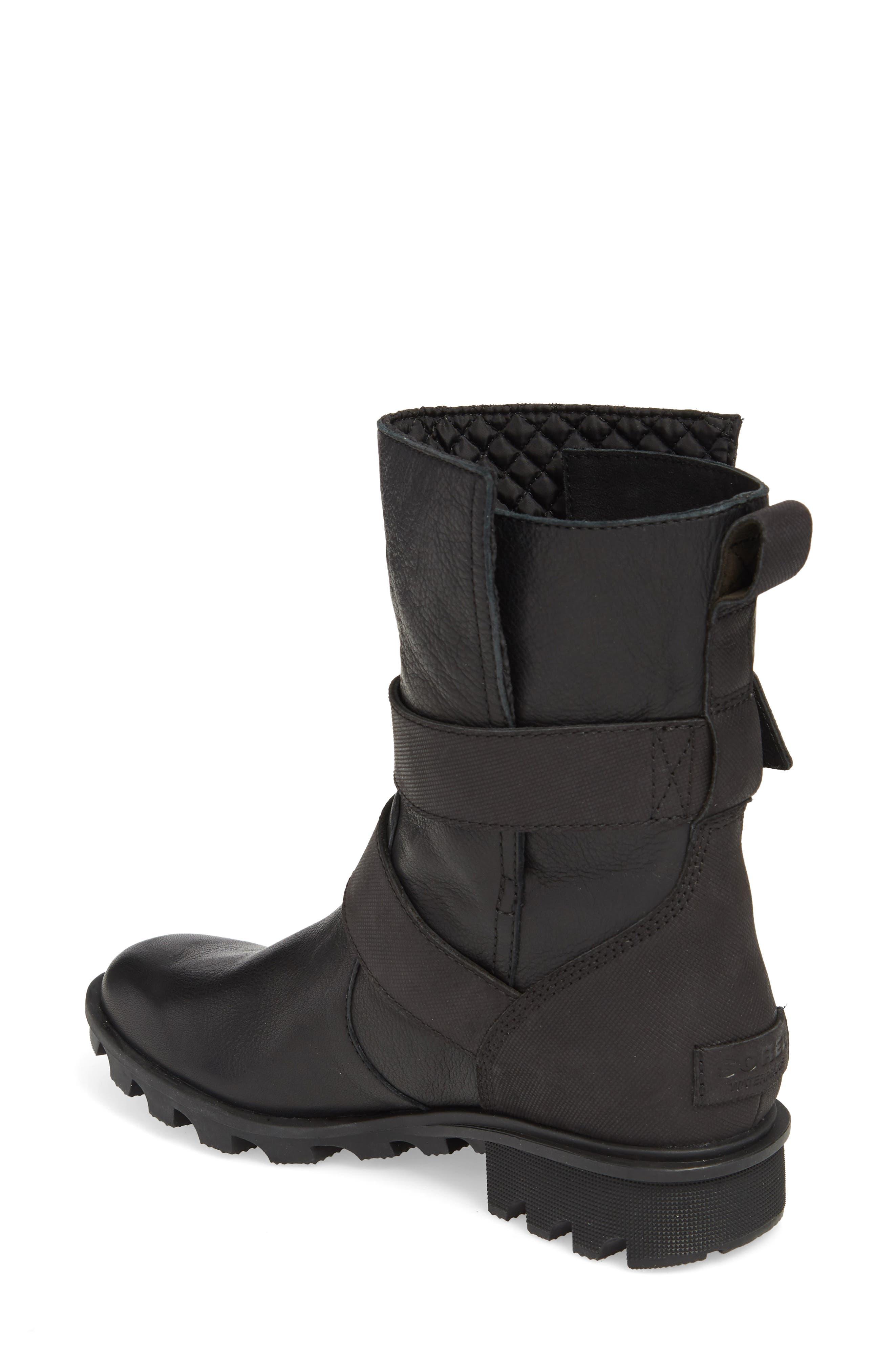 Phoenix Moto Waterproof Boot,                             Alternate thumbnail 2, color,                             BLACK