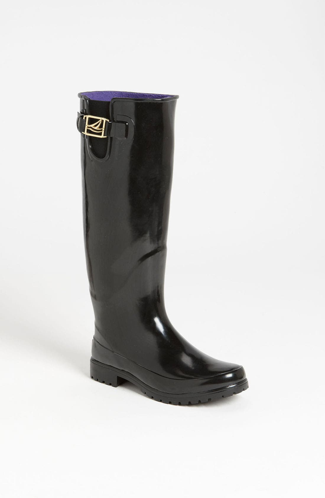 Top-Sider<sup>®</sup> 'Pelican Too' Rain Boot,                         Main,                         color, 001