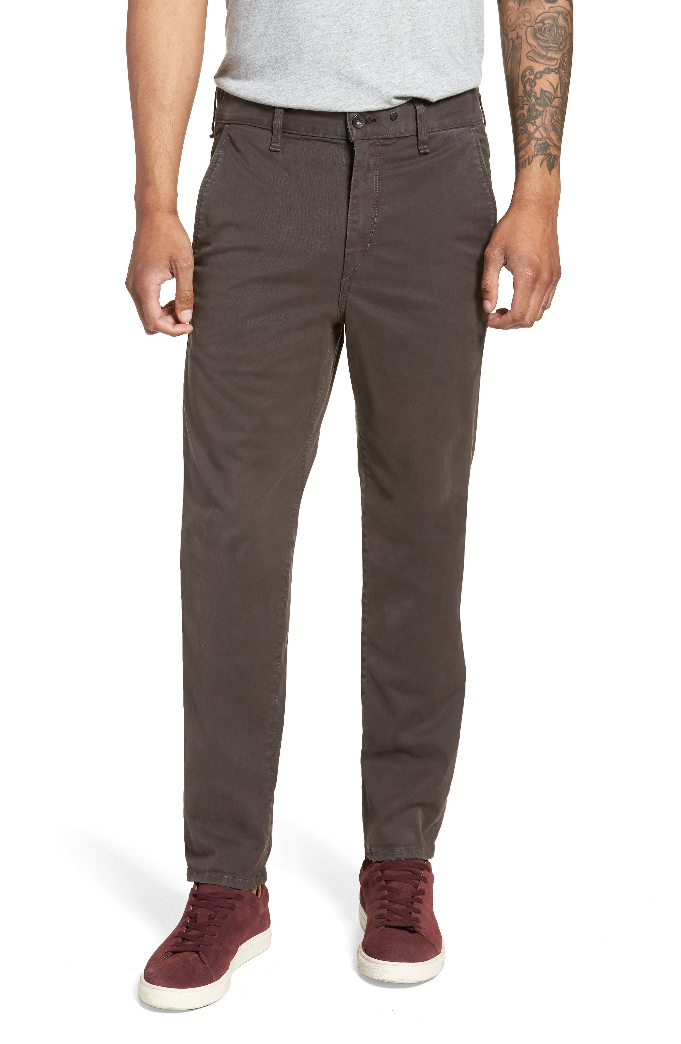 Fit 2 Chinos,                         Main,                         color, GREY