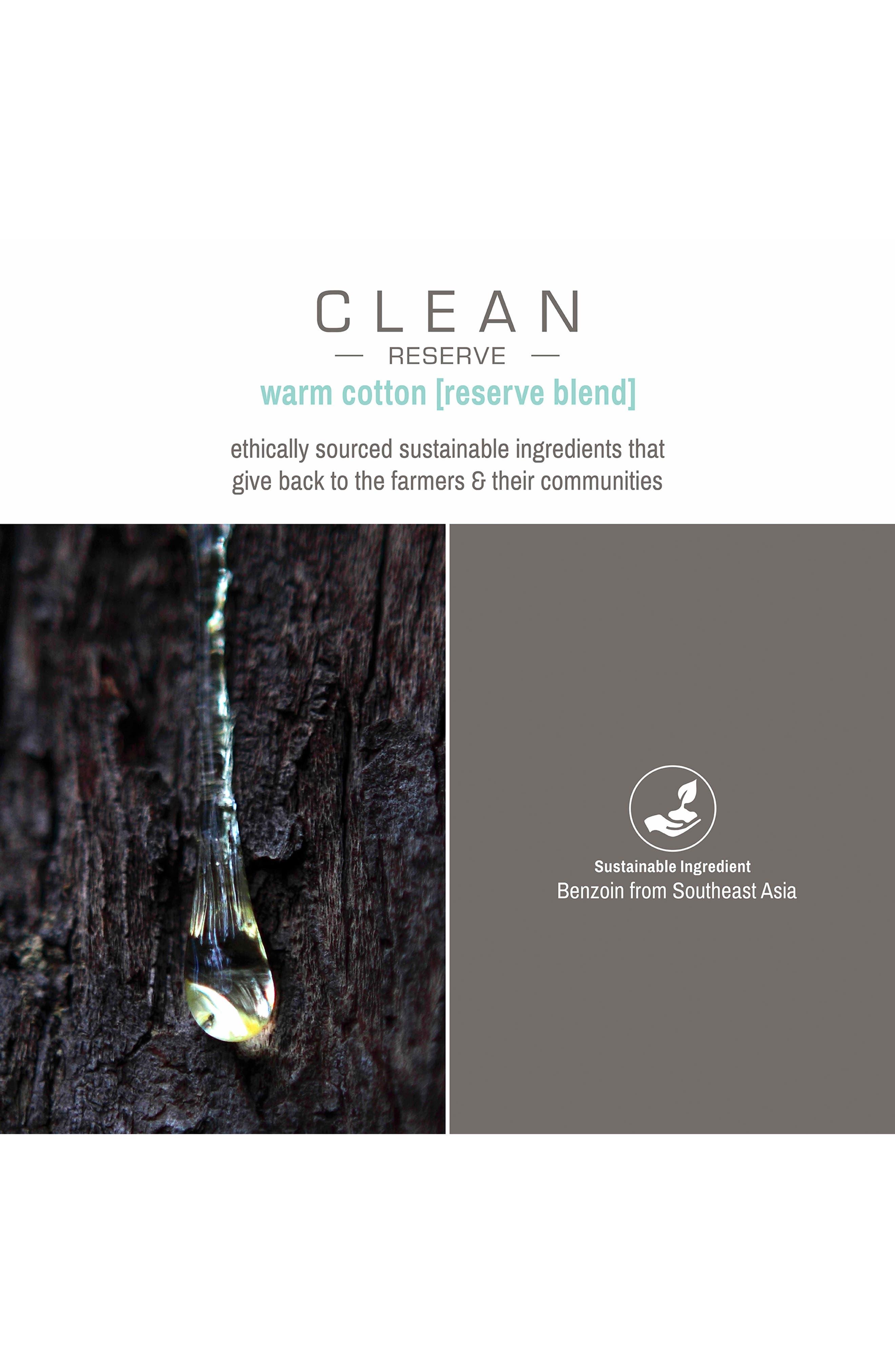 Reserve Blend Warm Cotton Eau de Parfum,                             Alternate thumbnail 3, color,                             NO COLOR