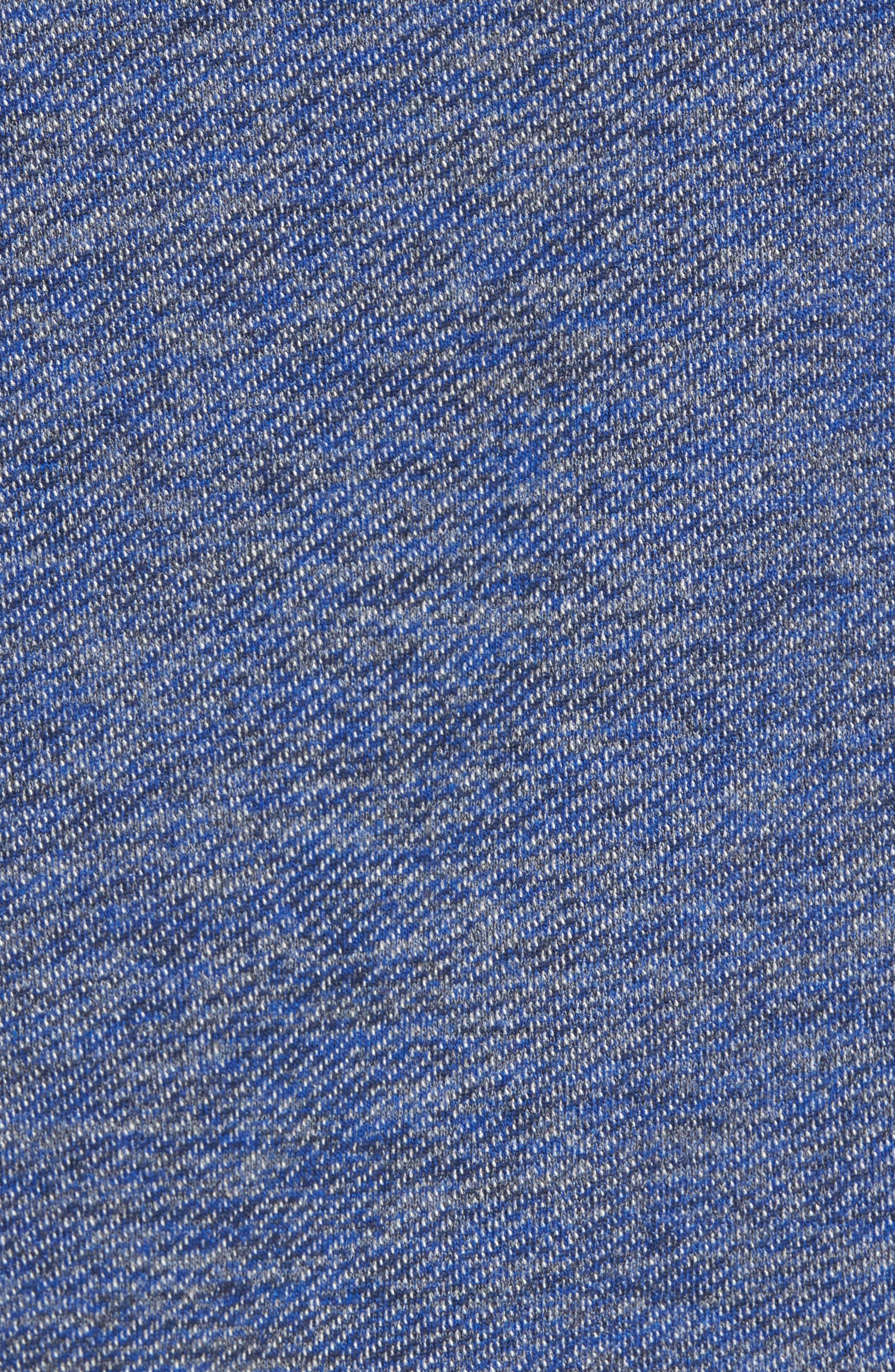 Mélange Knit Hoodie,                             Alternate thumbnail 5, color,