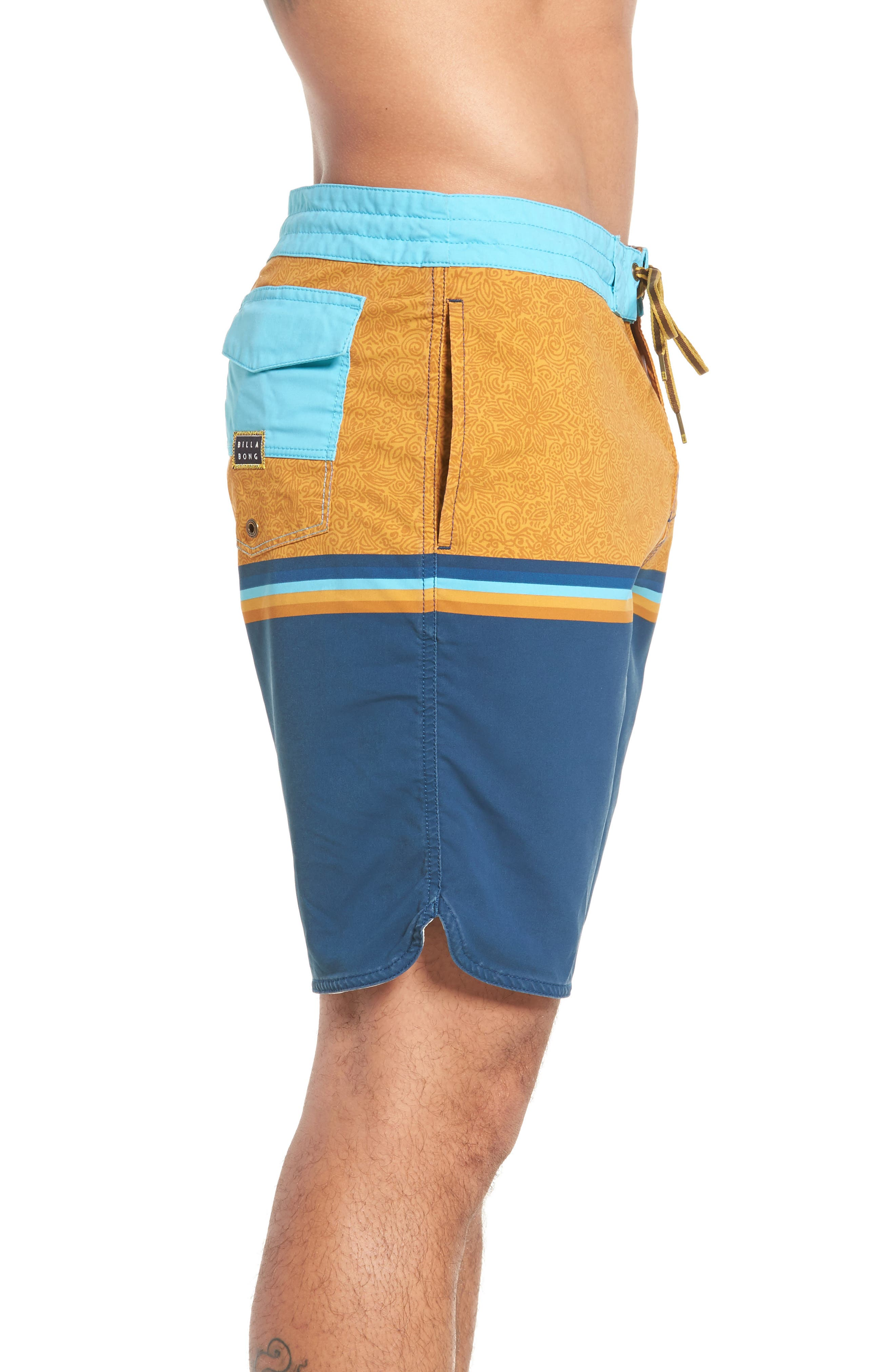 Fifty50 Low Tide Swim Trunks,                             Alternate thumbnail 14, color,