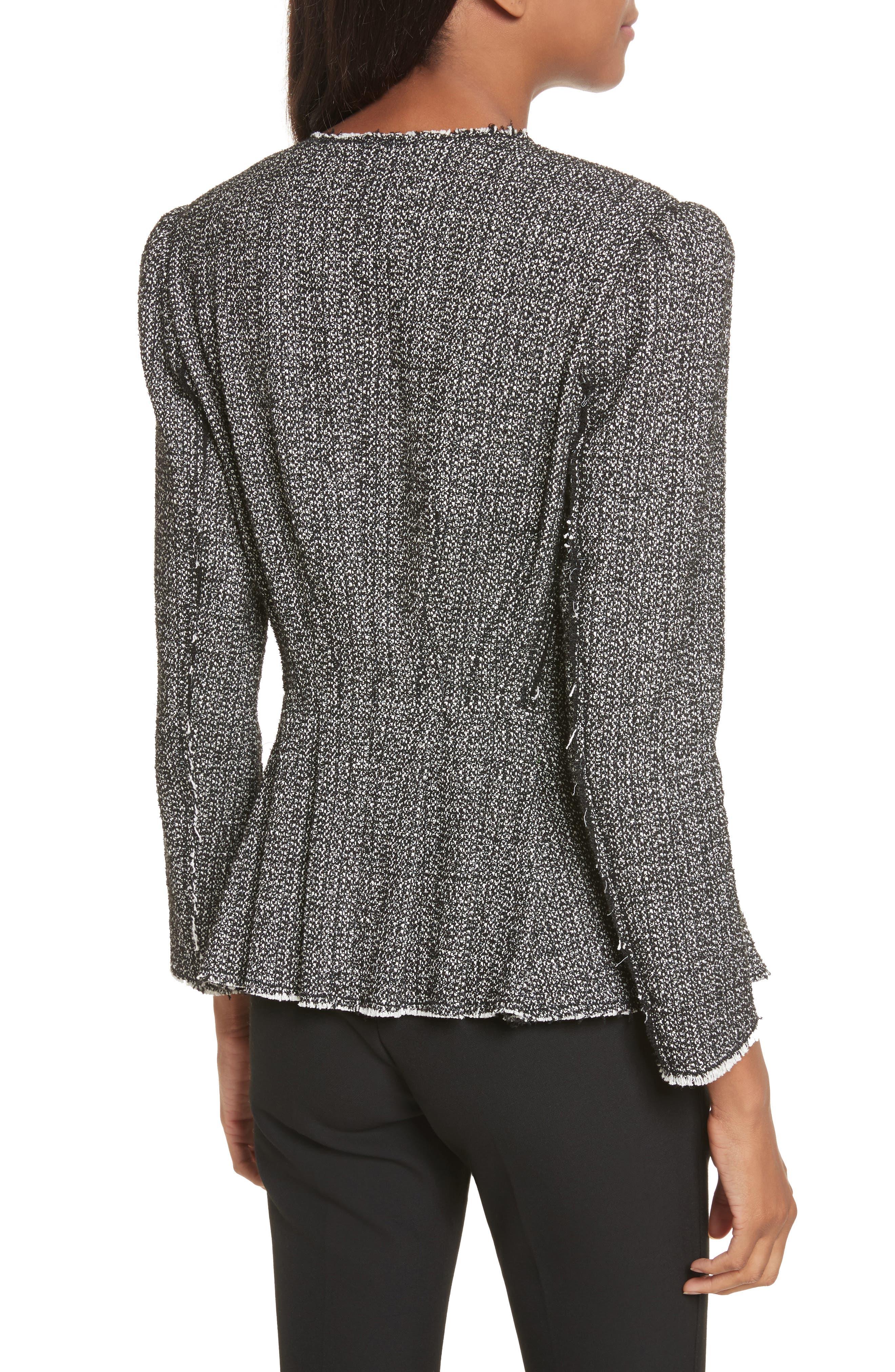Texture Tweed Jacket,                             Alternate thumbnail 2, color,                             014