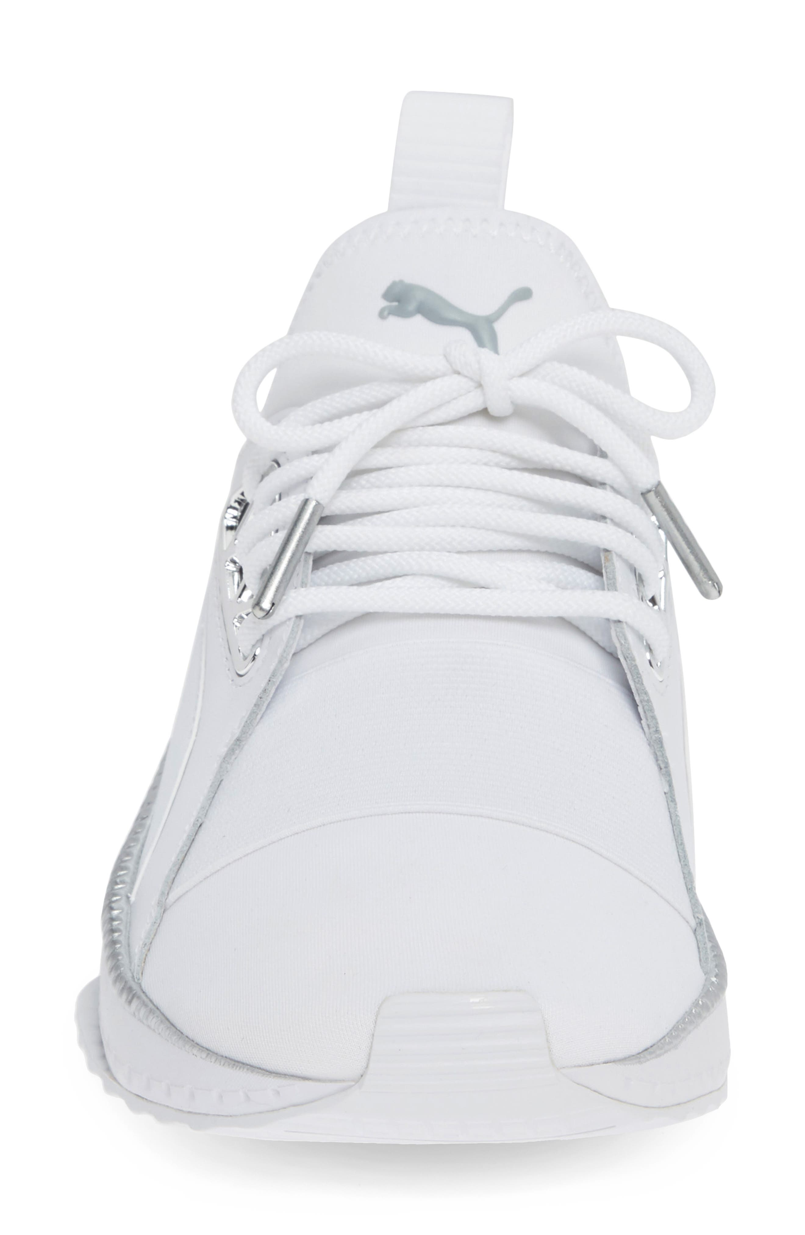 TSUGI Apex Jewel Sneaker,                             Alternate thumbnail 4, color,                             PUMA WHITE/ PUMA WHITE