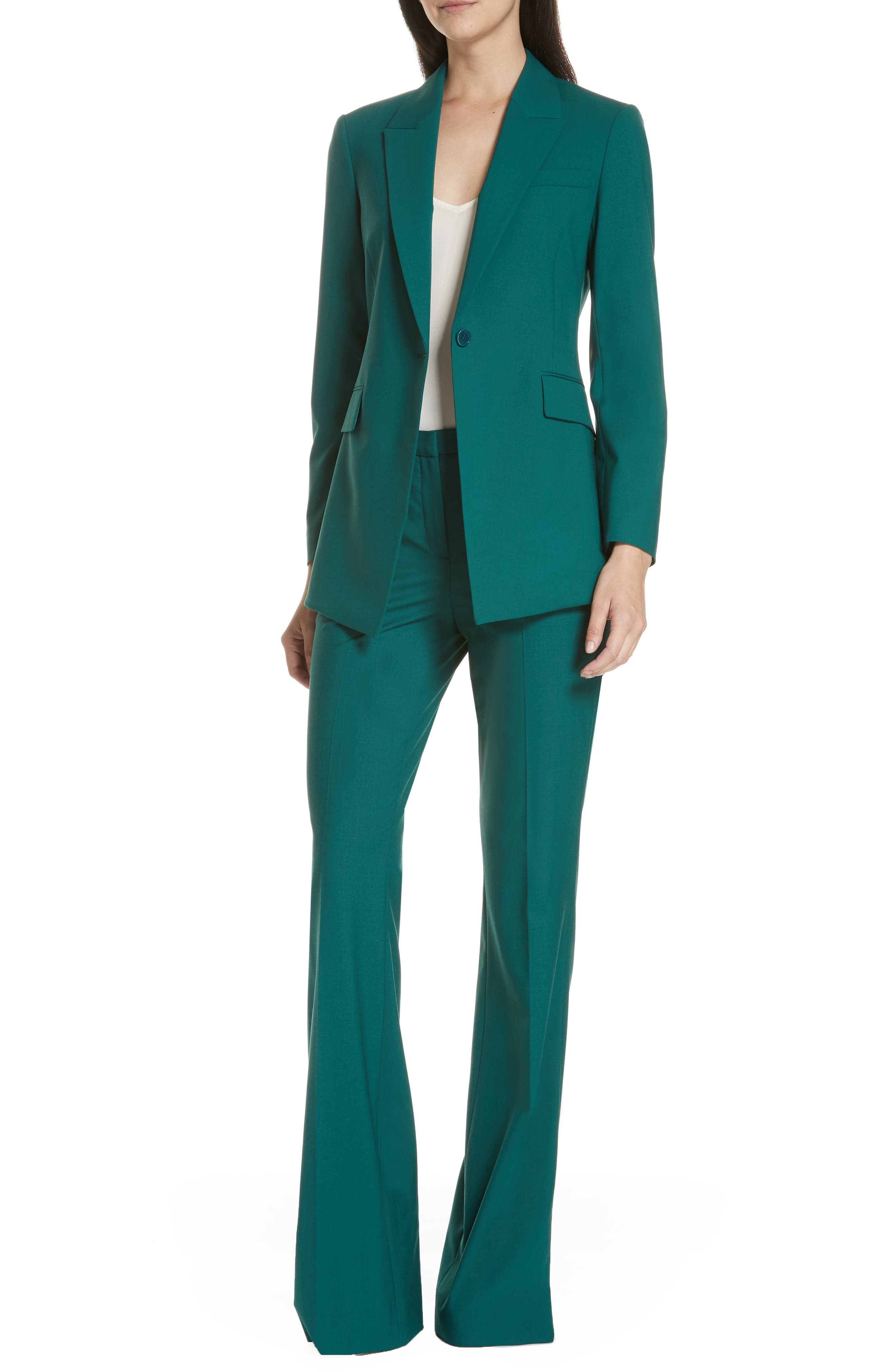 Etienette B Good Wool Suit Jacket,                             Alternate thumbnail 48, color,