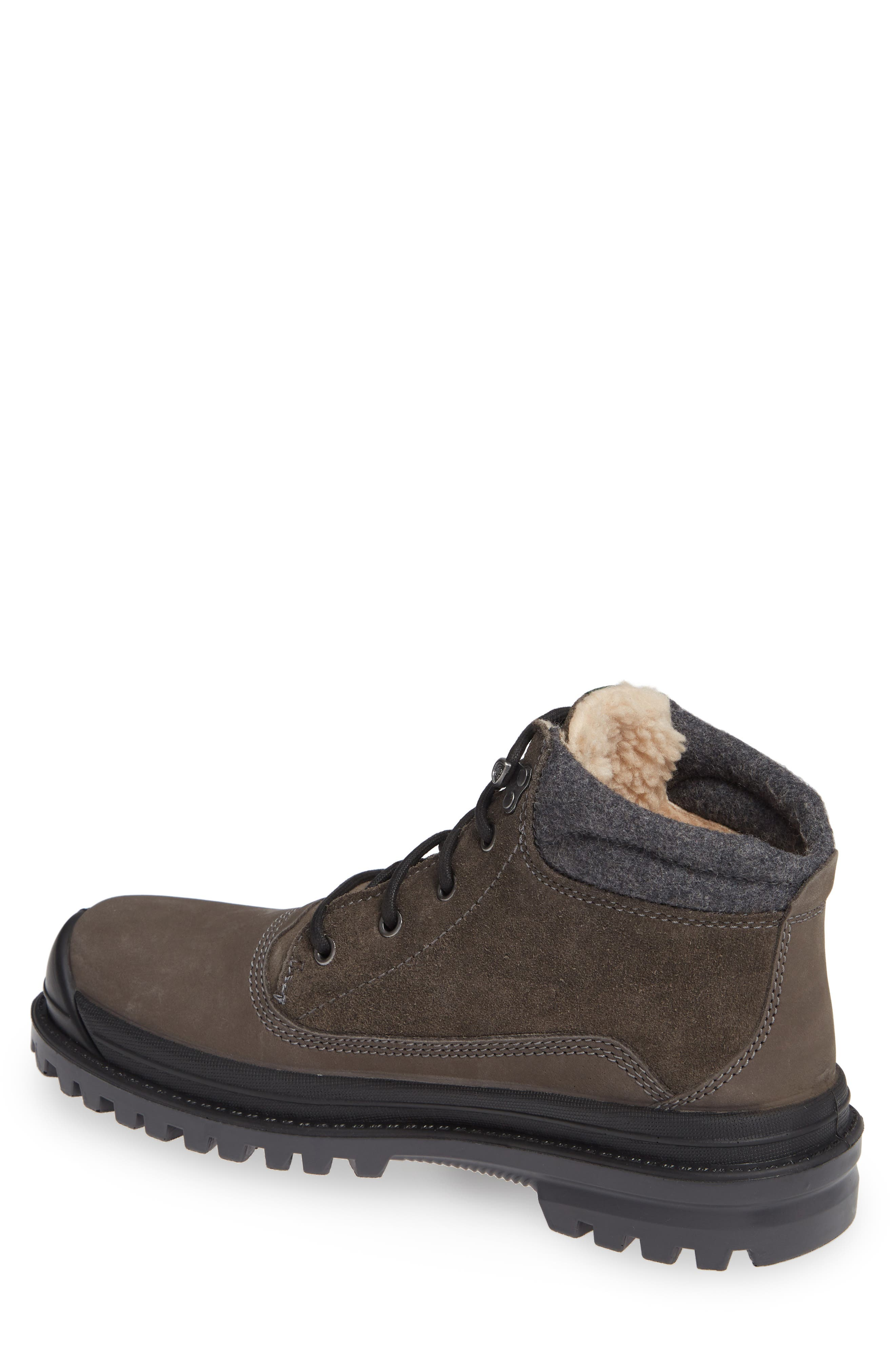 KAMIK,                             Griffin Mid Waterproof Boot,                             Alternate thumbnail 2, color,                             CHARCOAL LEATHER