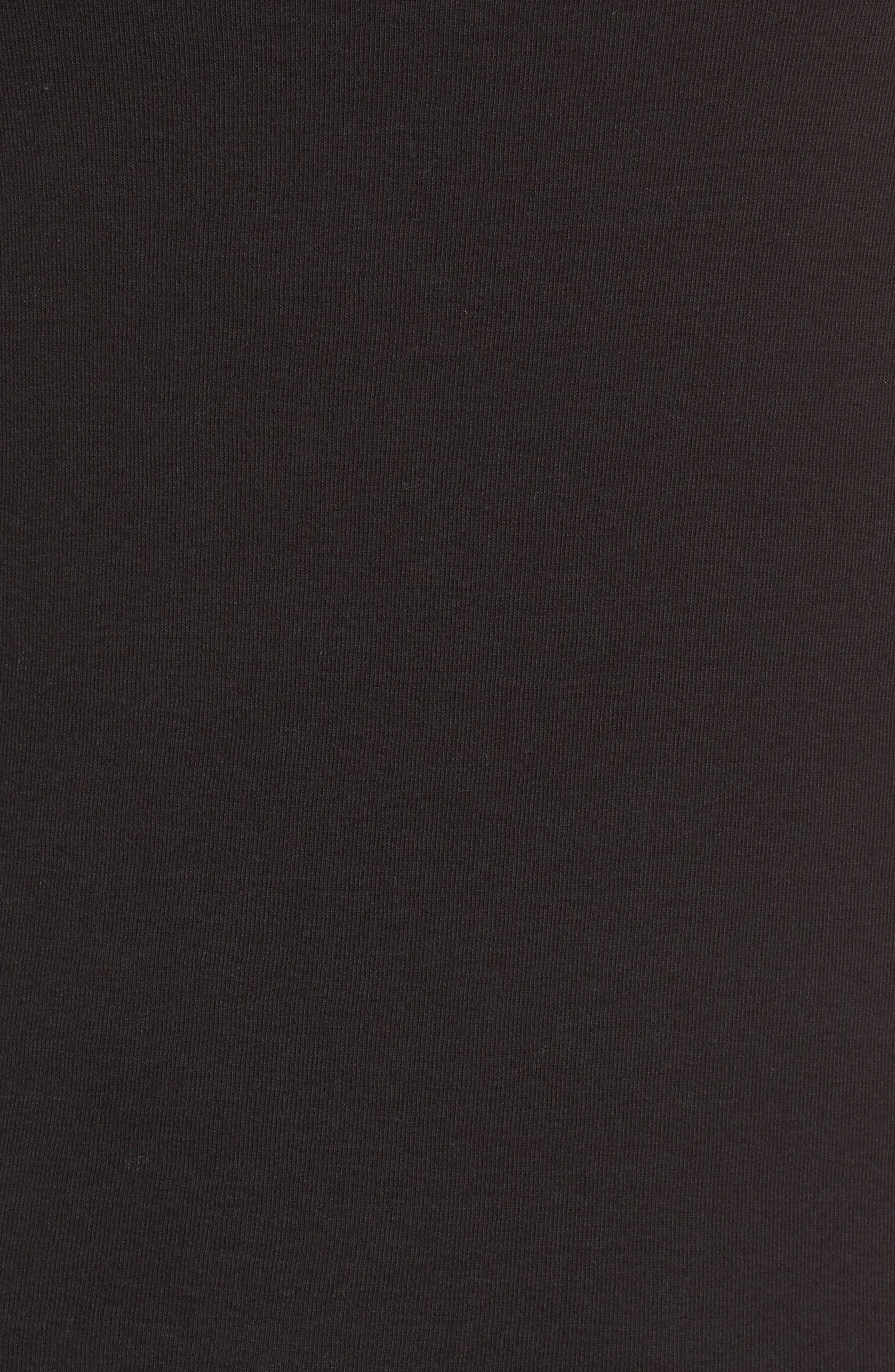 Caslon Cotton Tank,                             Alternate thumbnail 5, color,                             BLACK
