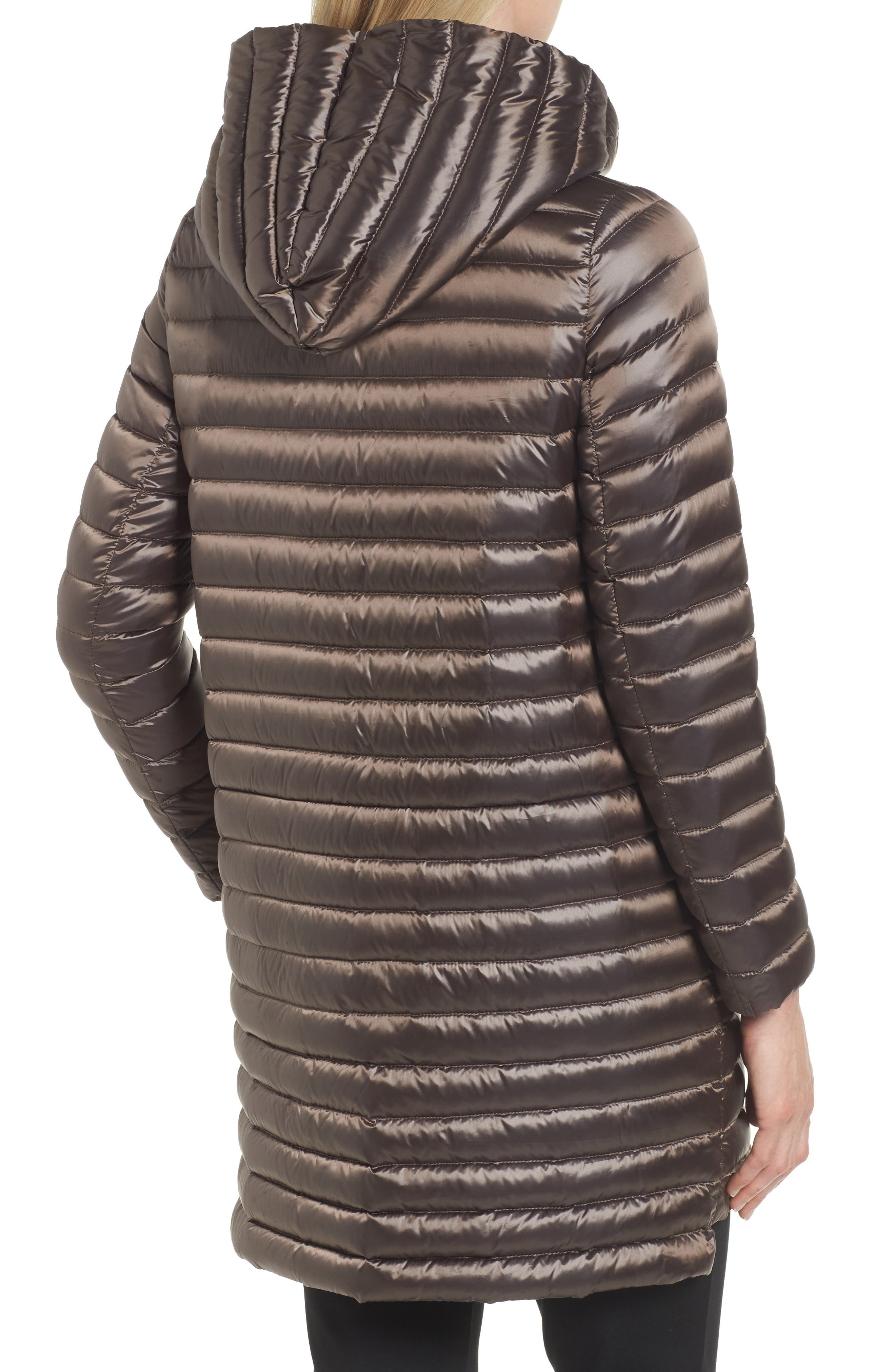 Reversible Down & Feather Fill Puffer Jacket,                             Alternate thumbnail 4, color,