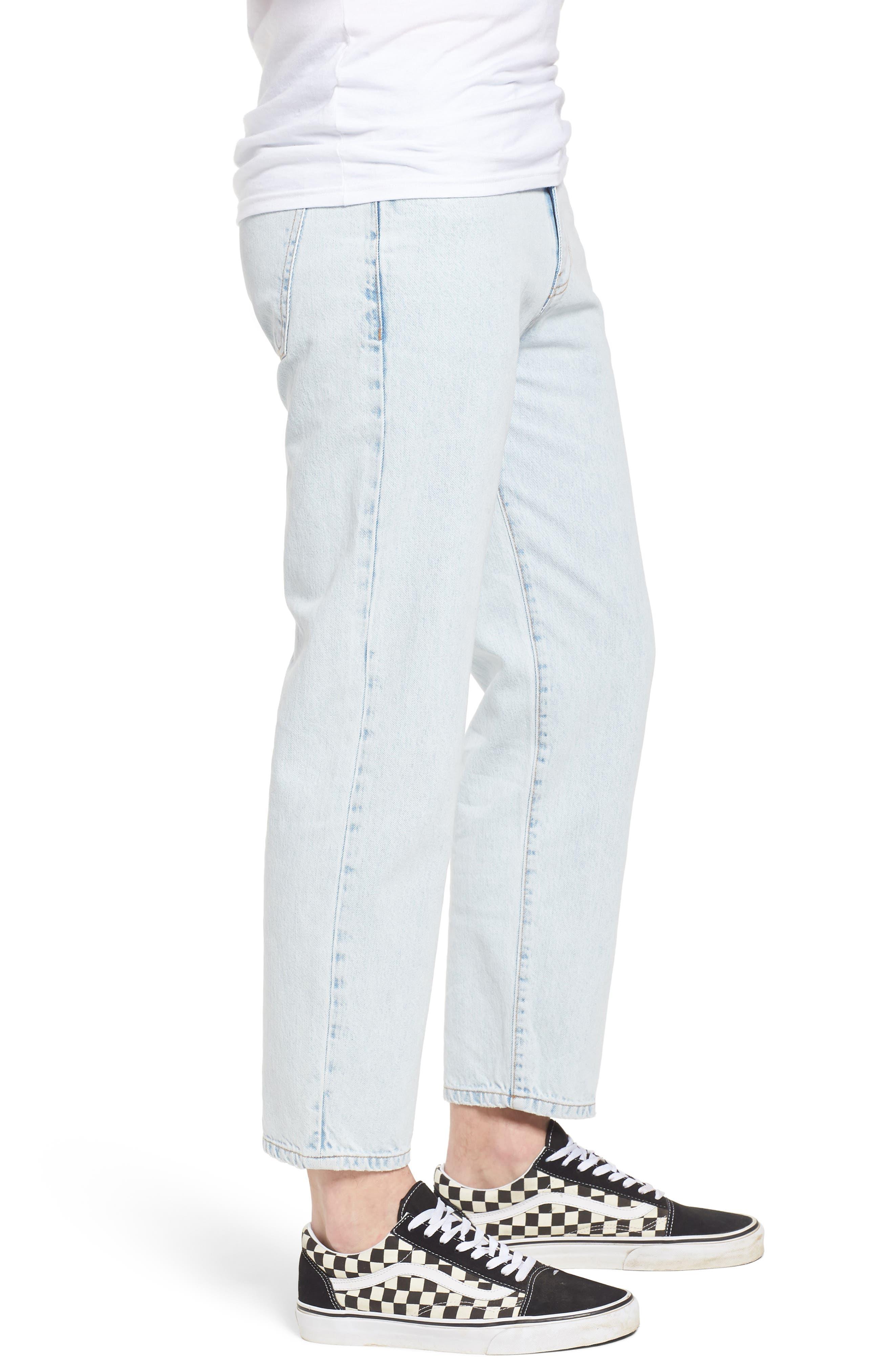 Otis Straight Fit Jeans,                             Alternate thumbnail 3, color,                             401