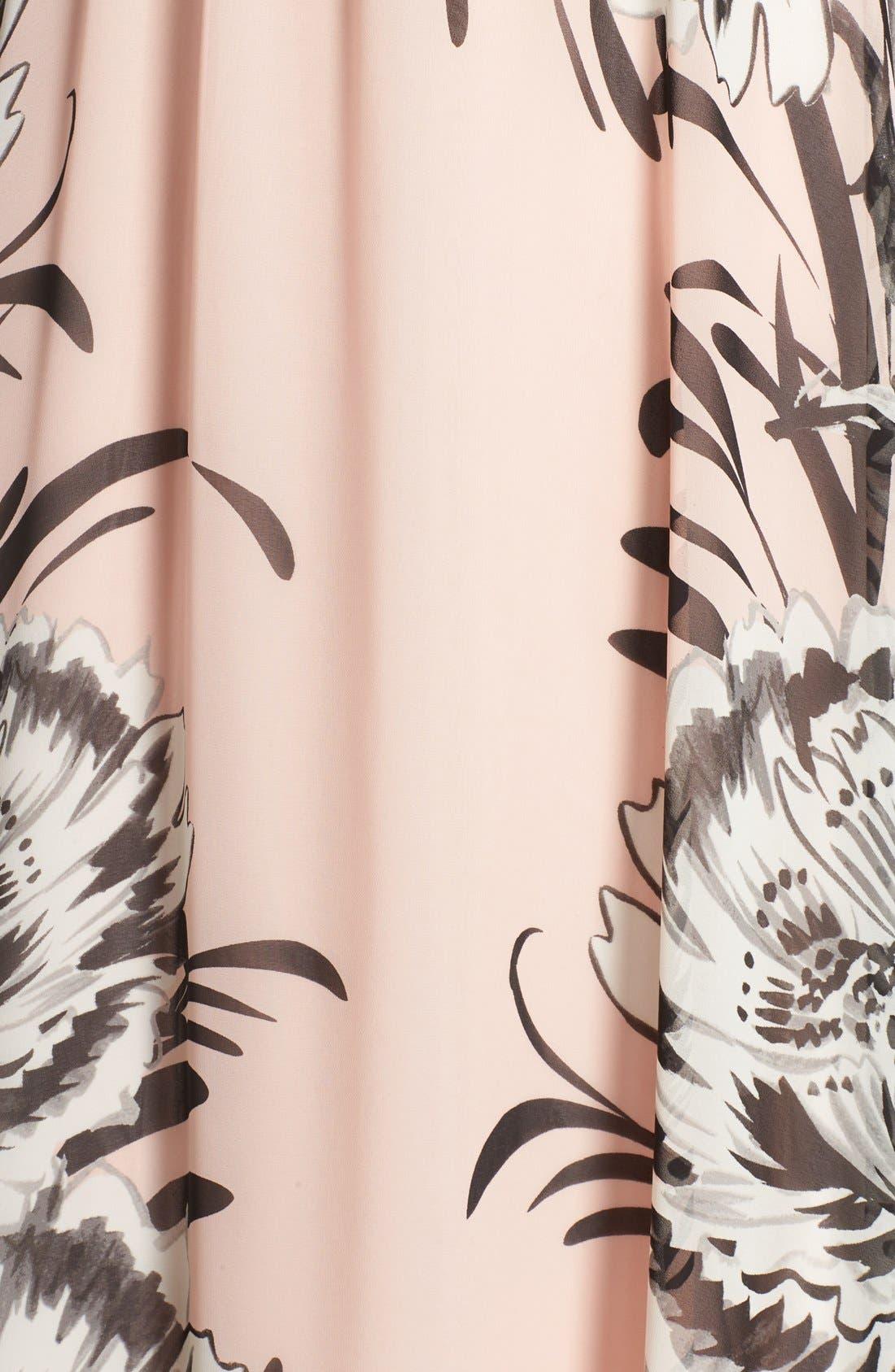 Chiffon Maxi Dress,                             Alternate thumbnail 10, color,                             BLUSH