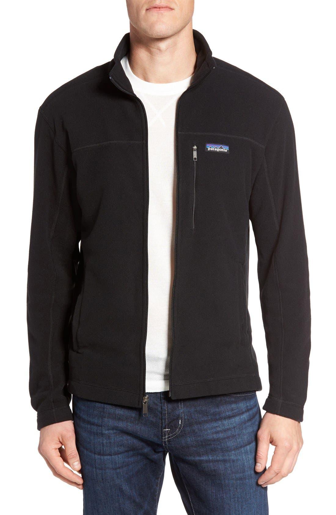 Micro D<sup>®</sup> Fleece Jacket, Main, color, 001