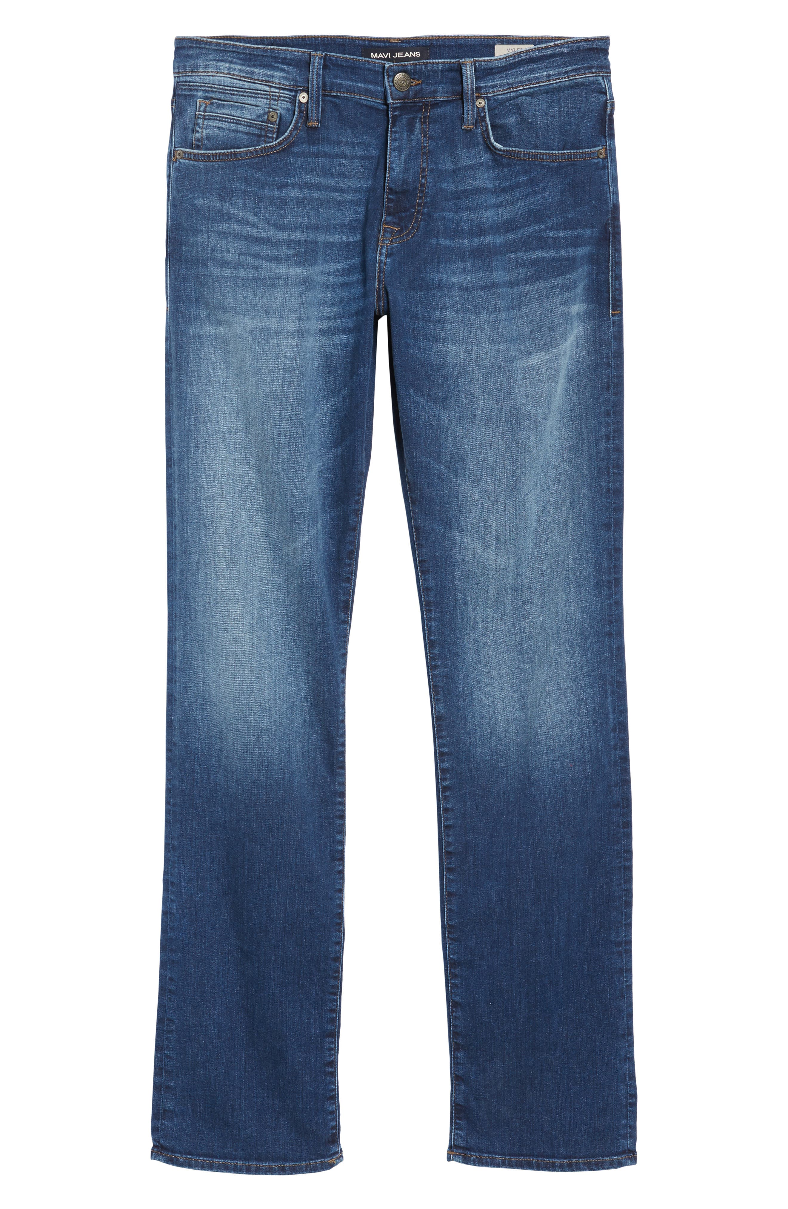 Myles Straight Fit Jeans,                             Alternate thumbnail 6, color,                             401