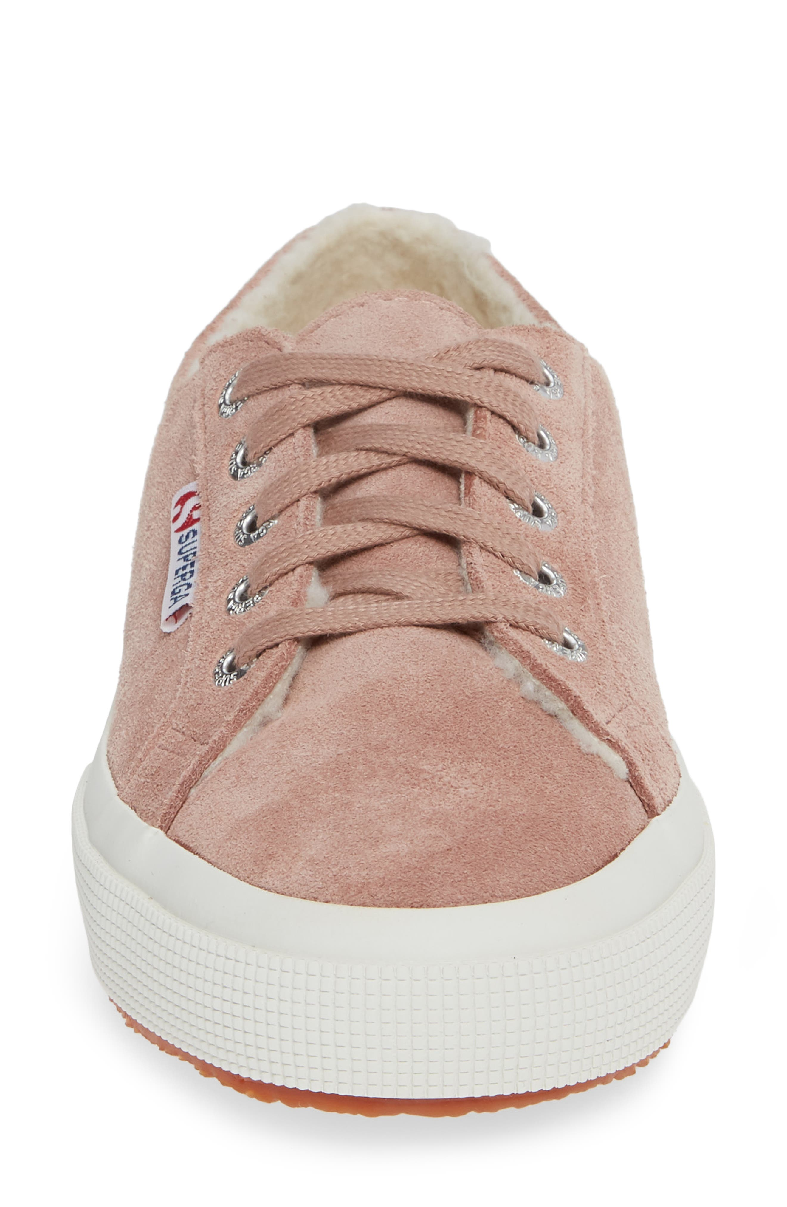 2750 Suefurw Sneaker,                             Alternate thumbnail 4, color,                             ROSE SUEDE
