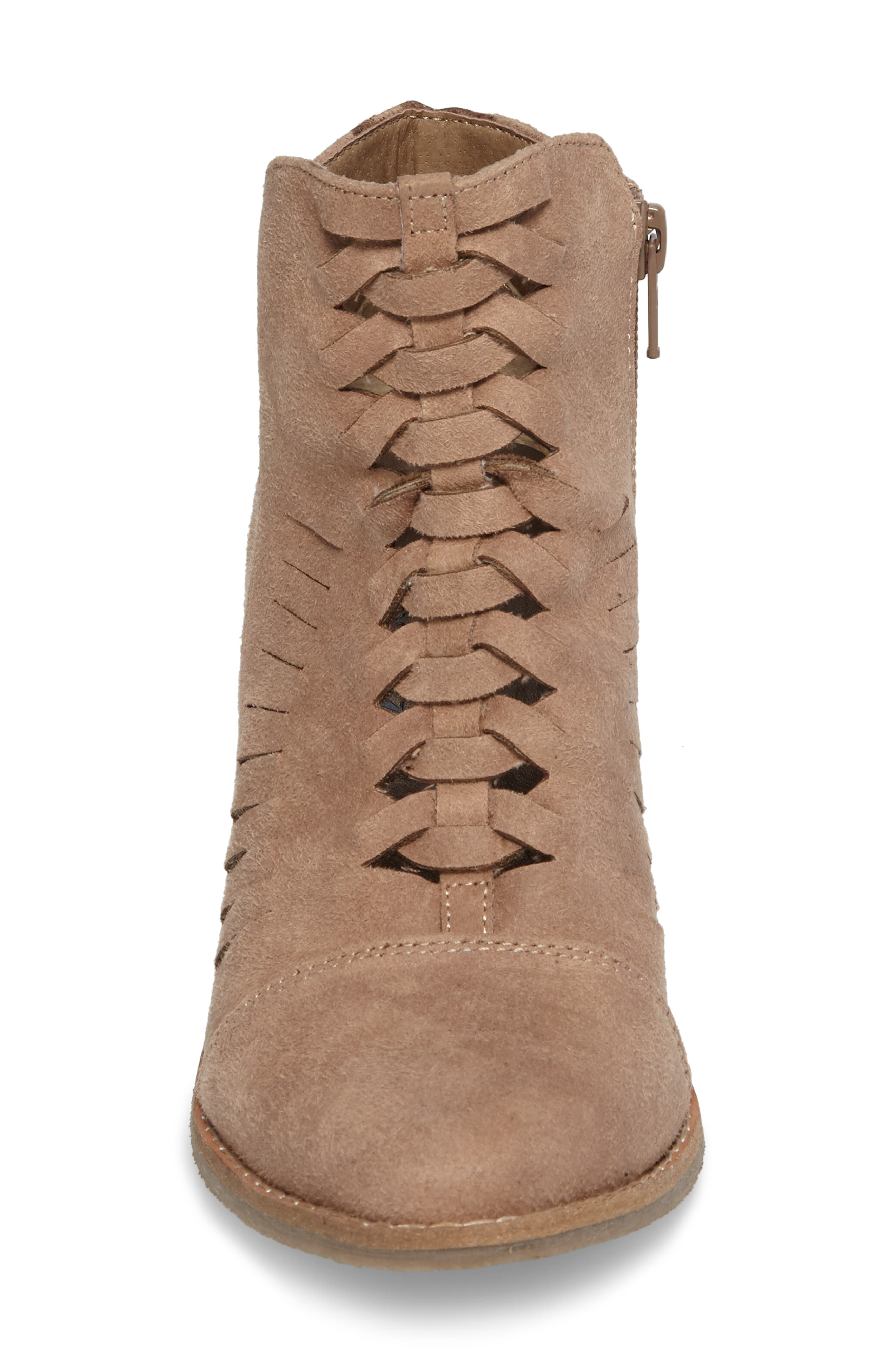 Ally Woven Bootie,                             Alternate thumbnail 10, color,