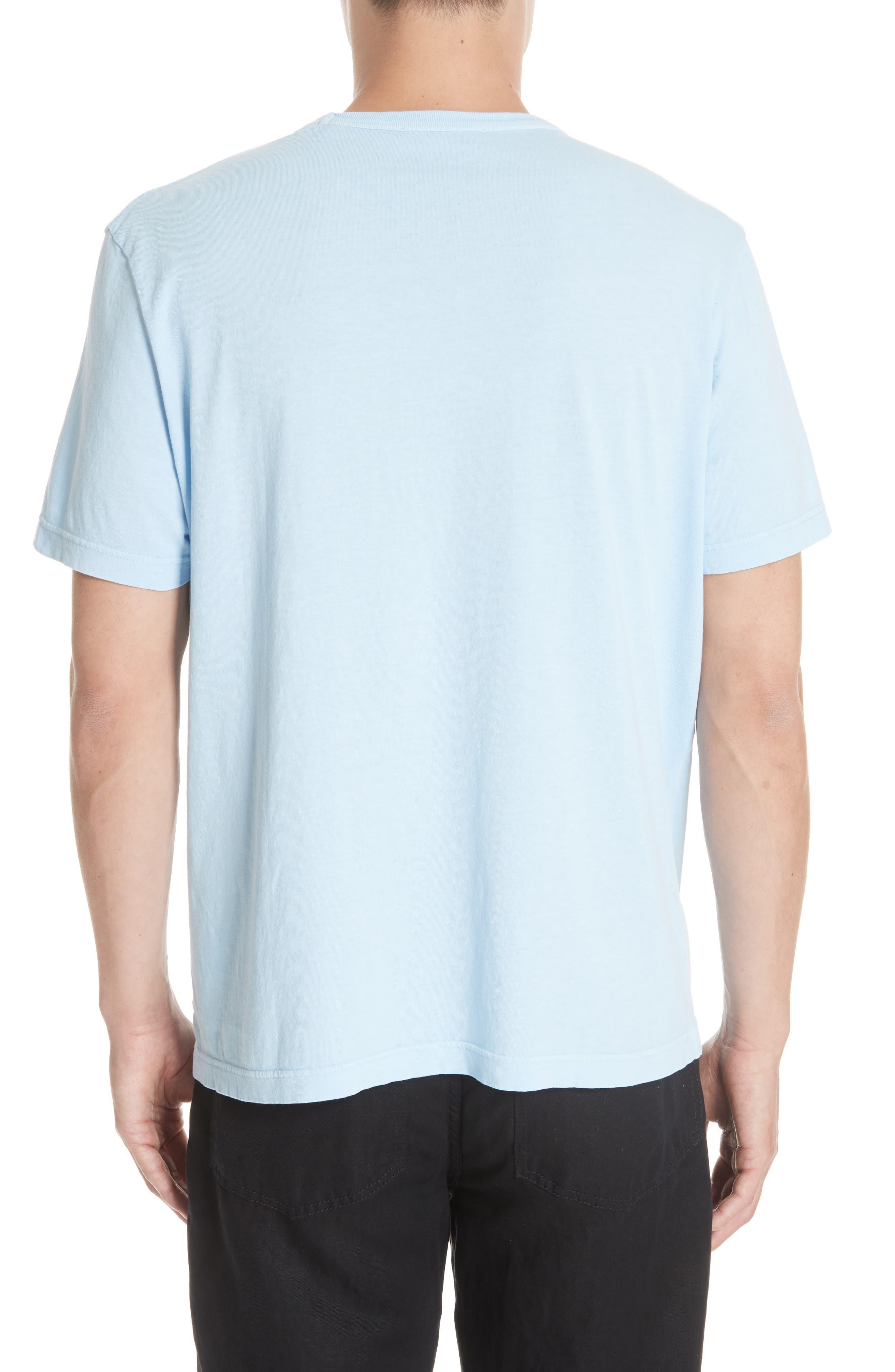 New Box T-Shirt,                             Alternate thumbnail 2, color,                             LIGHT BLUE