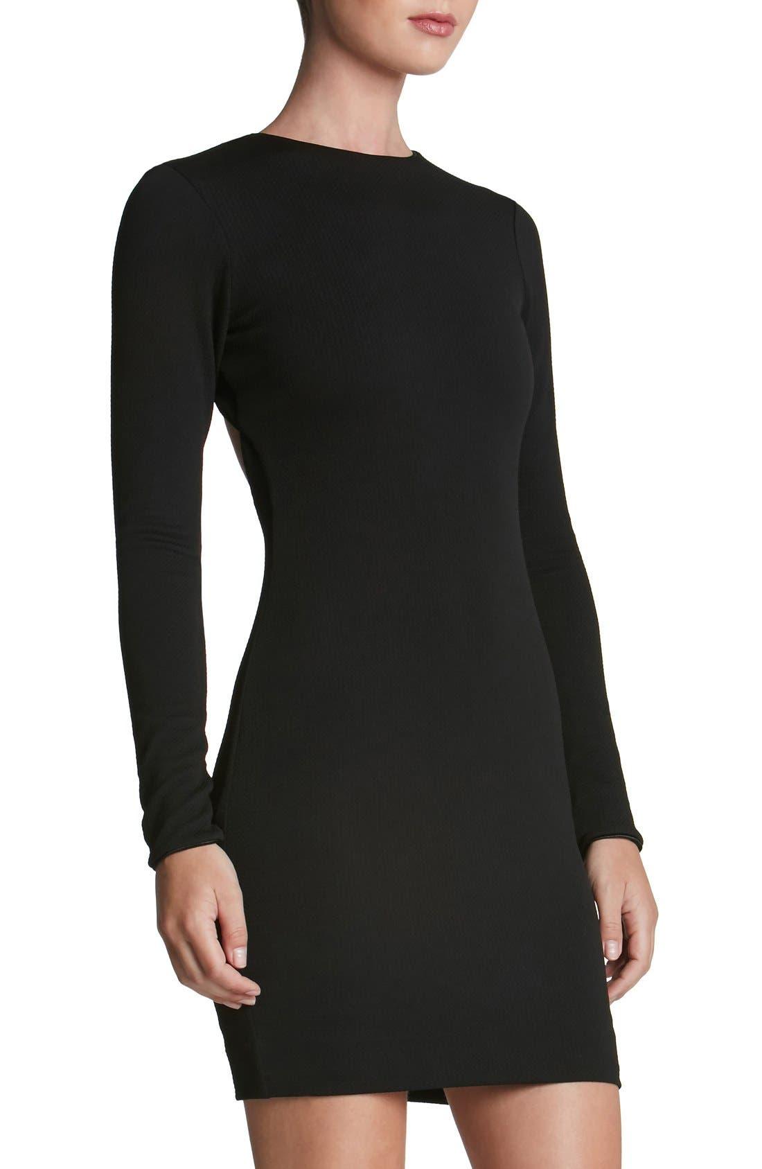 Tori Body-Con Dress,                         Main,                         color, 001