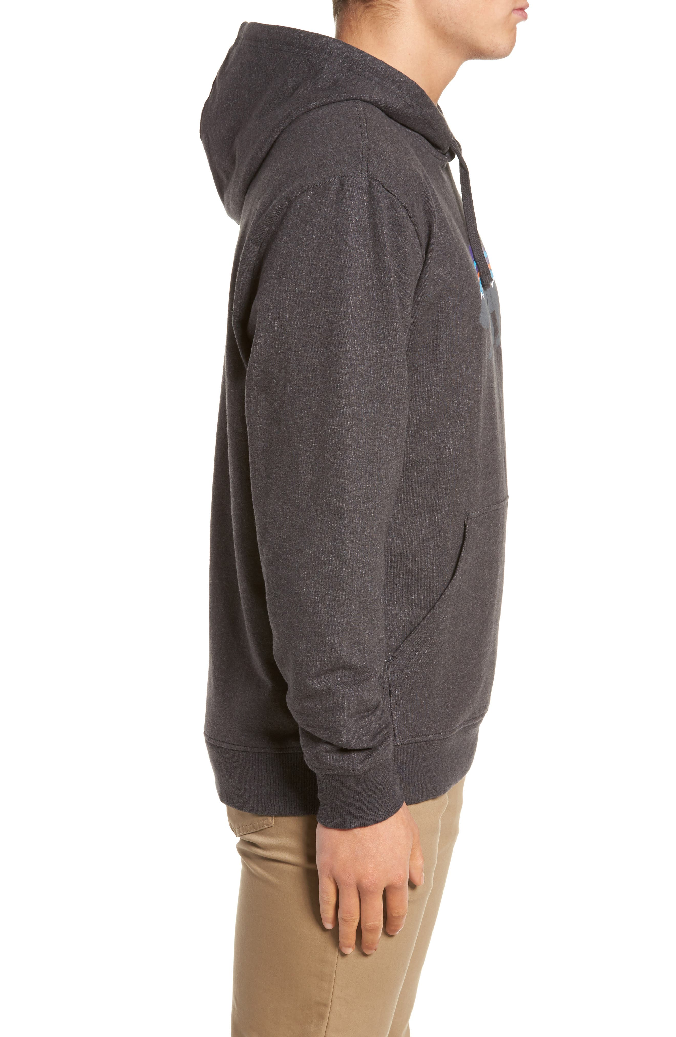 Fitz Roy Bear Graphic Hoodie,                             Alternate thumbnail 3, color,                             001