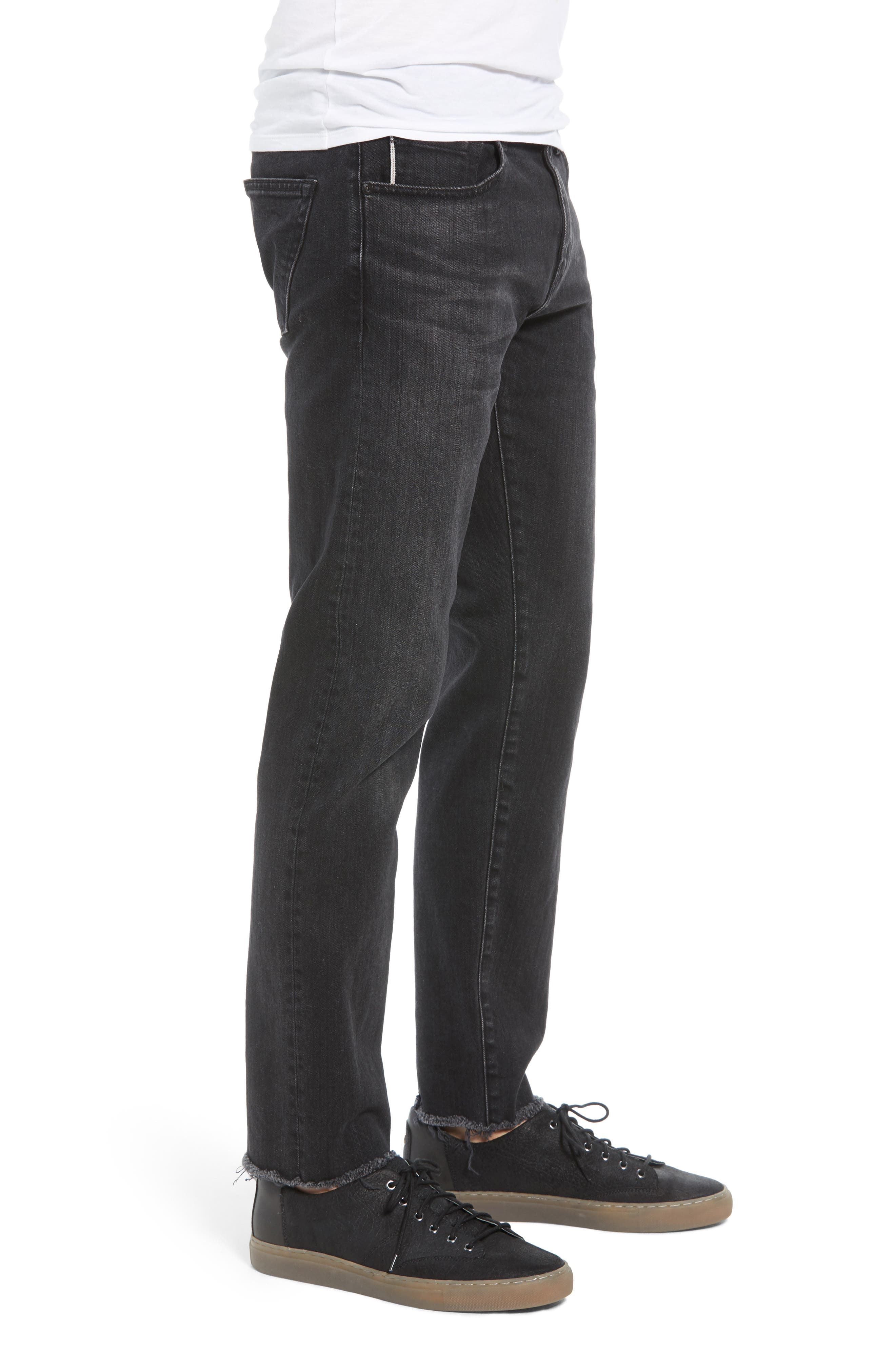 Eli Tapered Fit Jeans,                             Alternate thumbnail 3, color,                             GONZOPICT