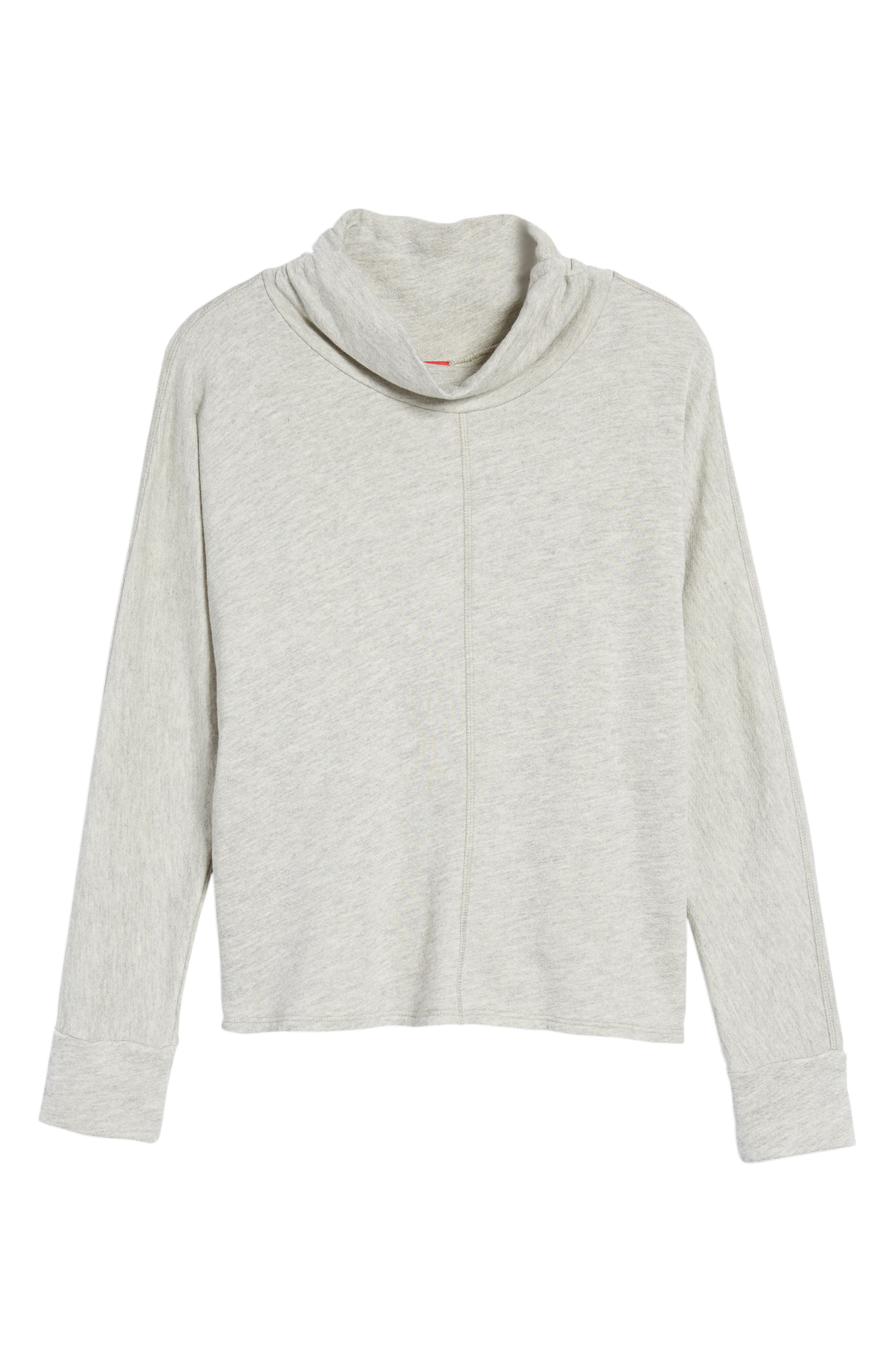 Helix Turtleneck Sweatshirt,                             Alternate thumbnail 6, color,                             030